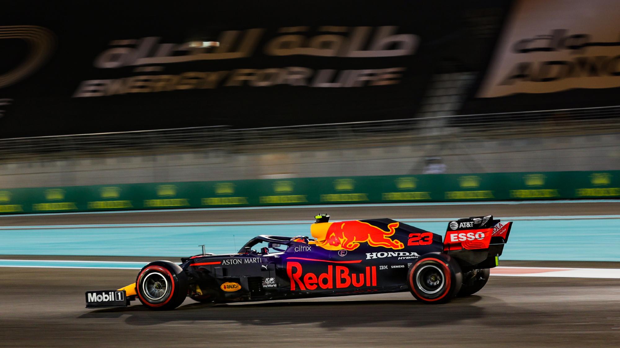 Alex Albon, 2020 Abu Dhabi GP