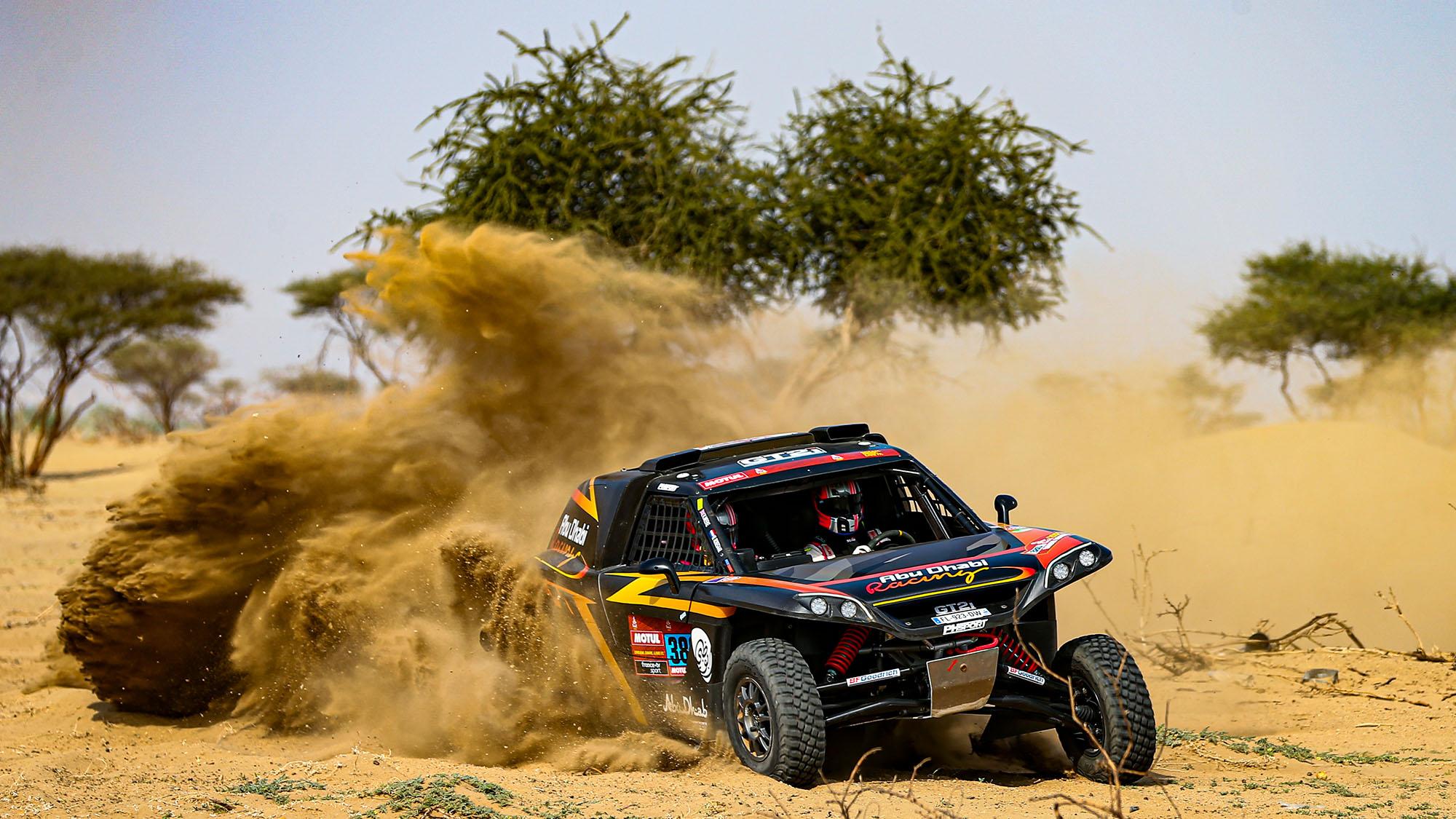 # 380 Meeke Kris (gbr), Rosegaar Wouter (nld), PH Sport, PH Sport, Light Weight Vehicles Protoype - T3, action during the shakedown of the Dakar 2021 in Jeddah, Saudi Arabia on December 31, 2021