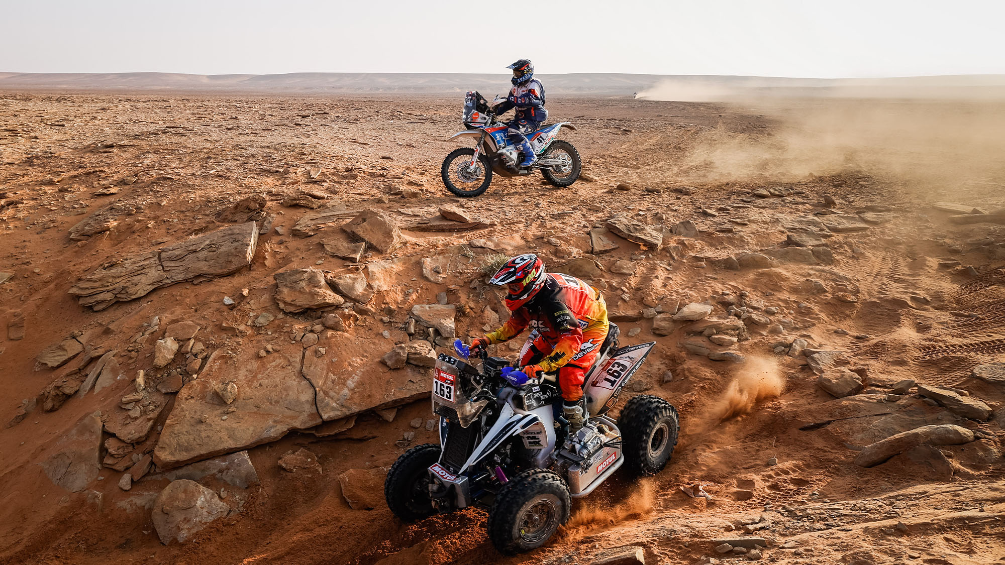 163 Copetti Pablo (usa), Yamaha, MX Devesa By Berta, Motul, Quad, action during the 8th stage of the Dakar 2021 between Sakaka and Neom, in Saudi Arabia on January 11, 2021