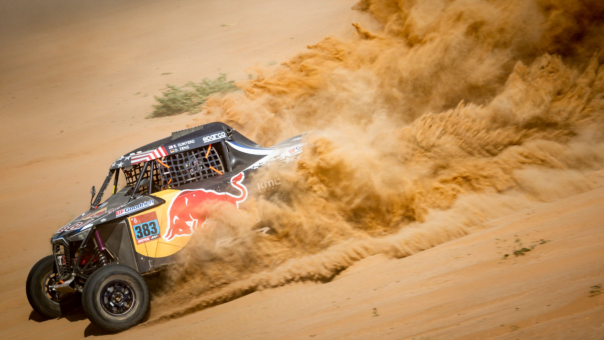 Seth Quintero Dakar 2021