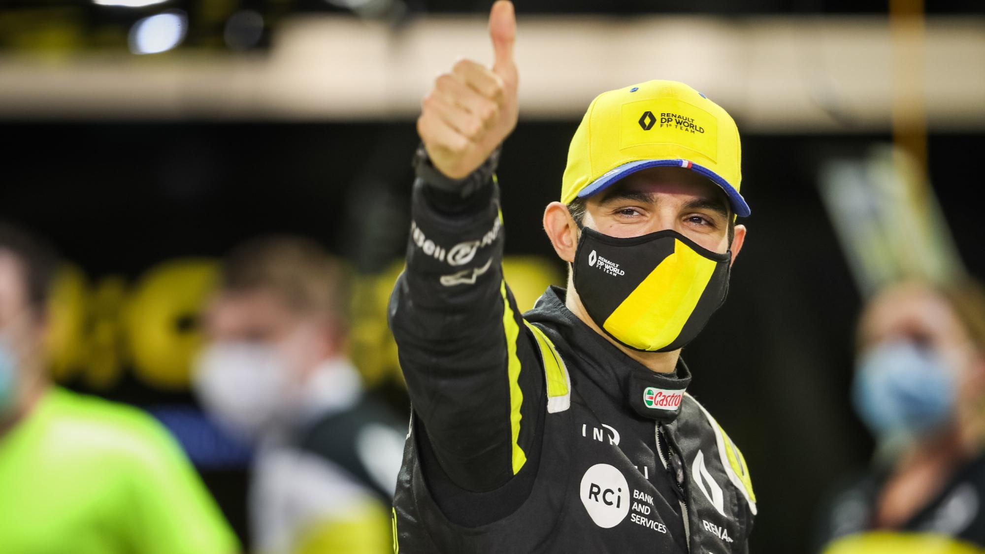 Esteban Ocon, 2020 Bahrain GP