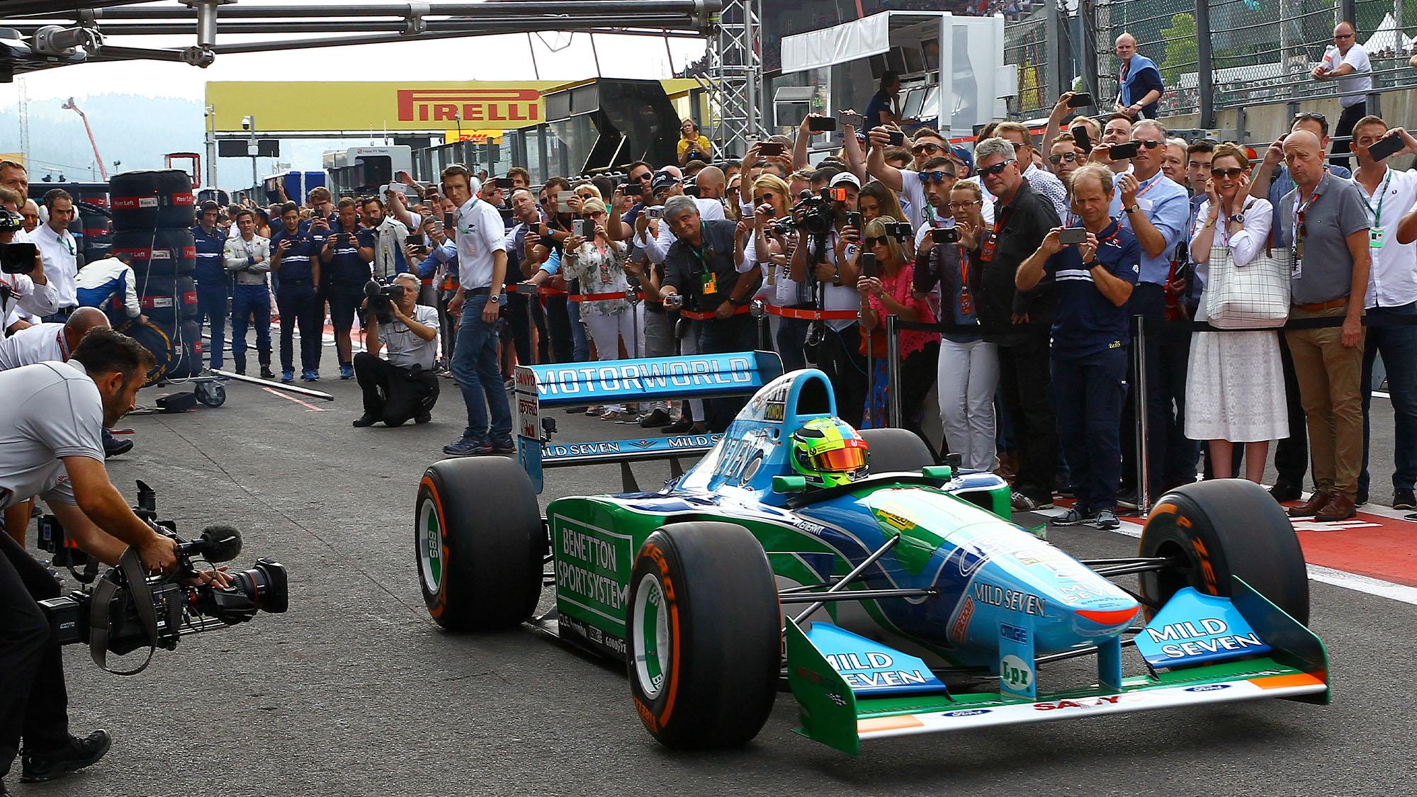 Mick Schumacher Benetton 194