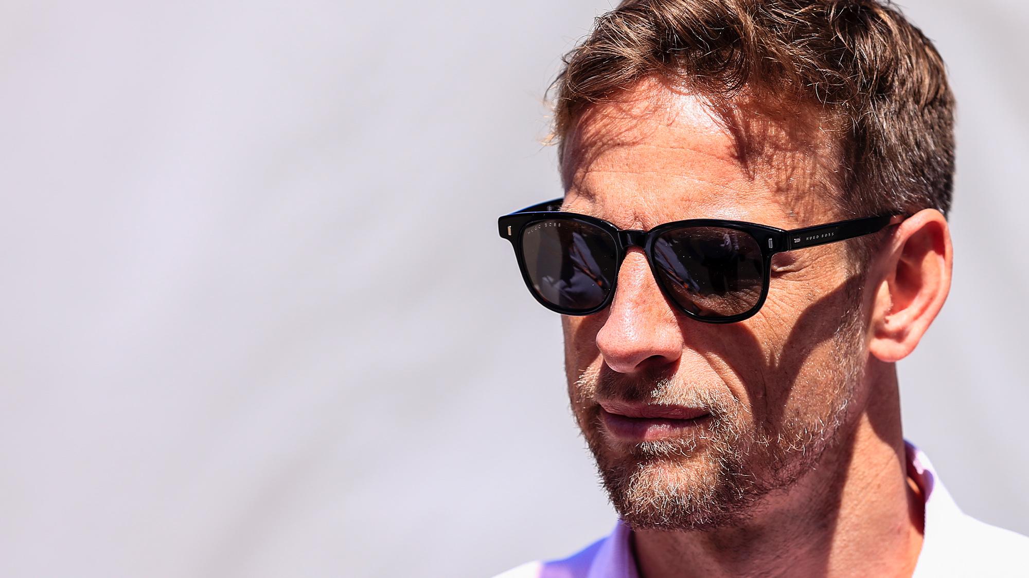Jenson Button portrait
