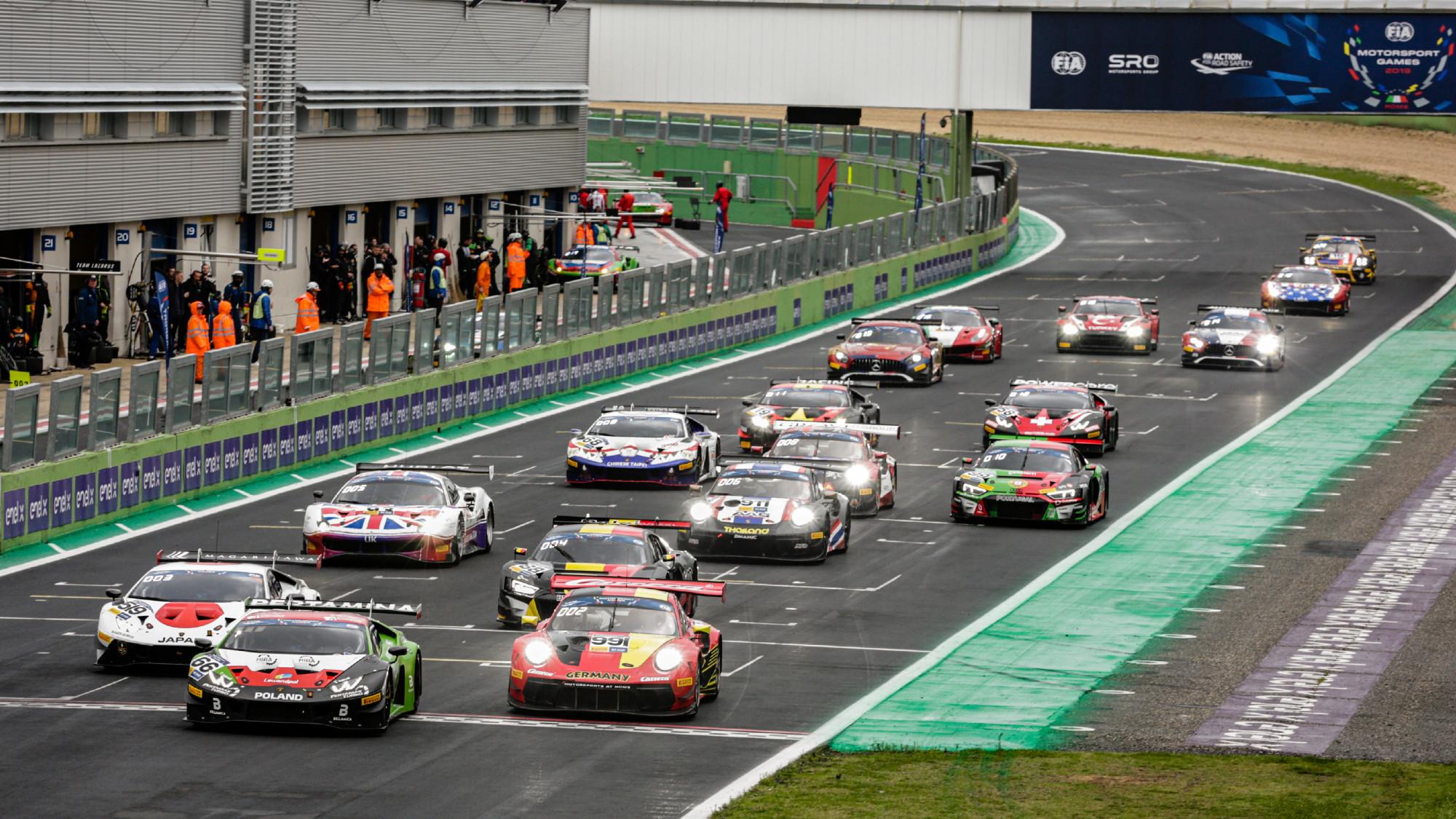 FIA Motorsport Games 2019, GT Cup
