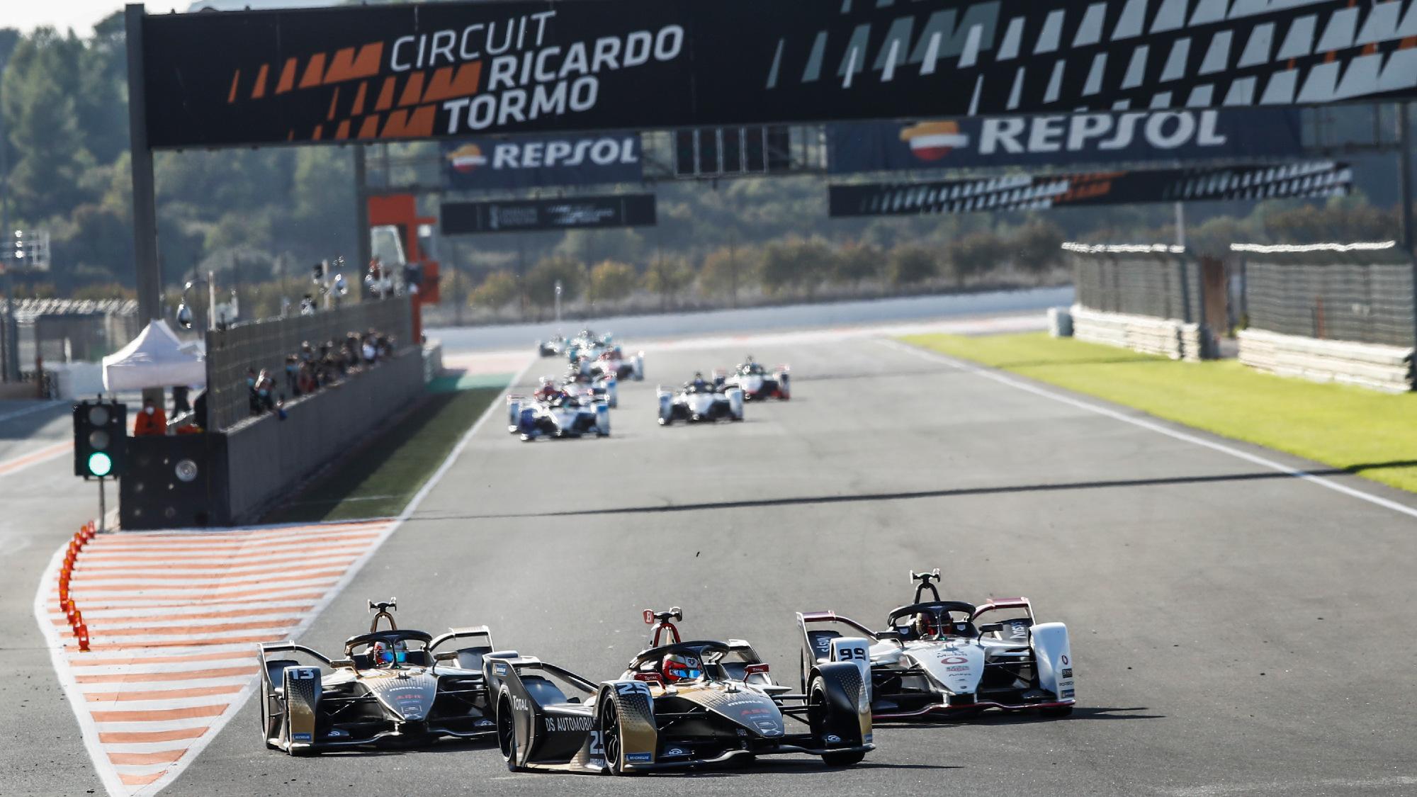 Formula E 2020 Test, Valencia