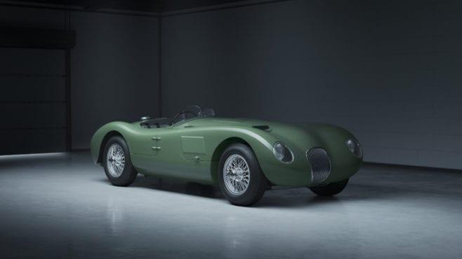 Jaguar celebrates Le Mans-winning C-type with continuation series