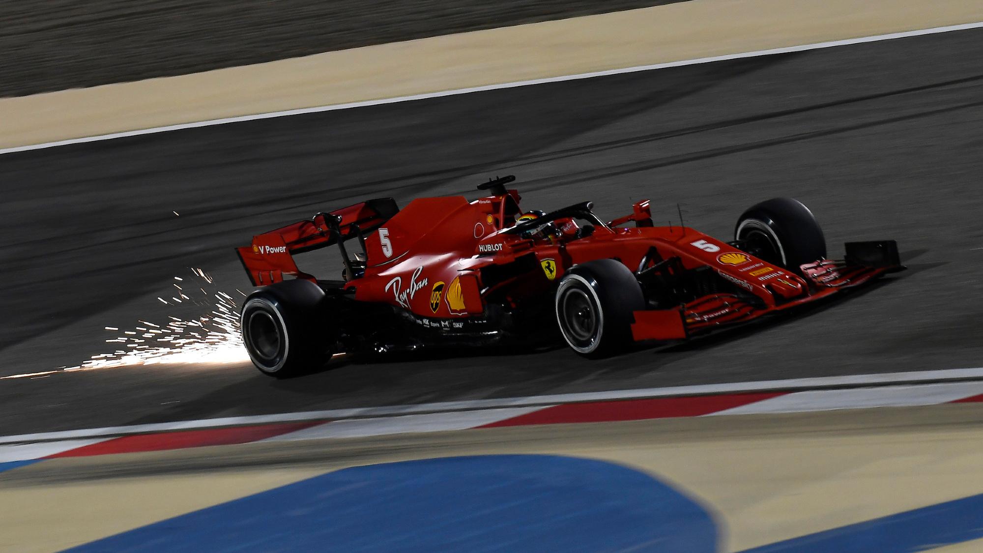 Sebastian Vettel, 2020 Sakhir GP