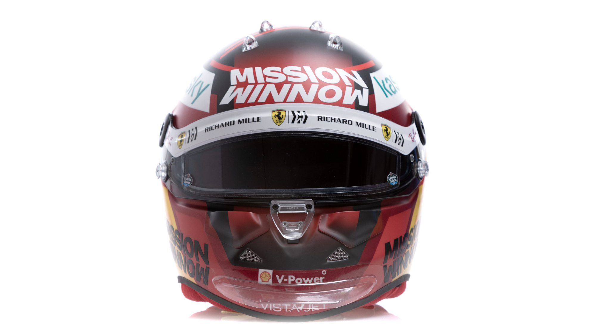 Carlos Sainz 2021 F1 helmet