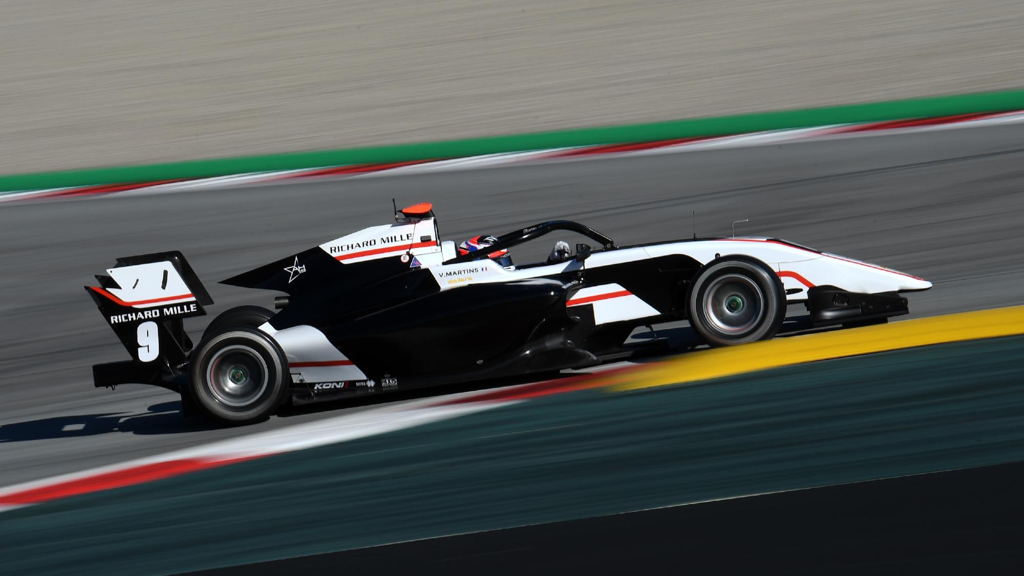 Victor Martins F3 test