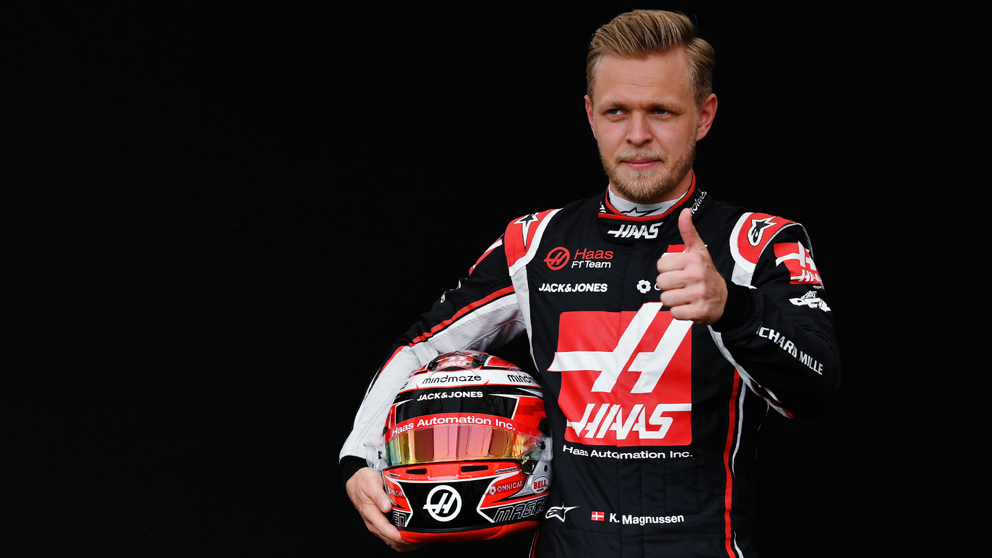 Kevin Magnussen Haas F1