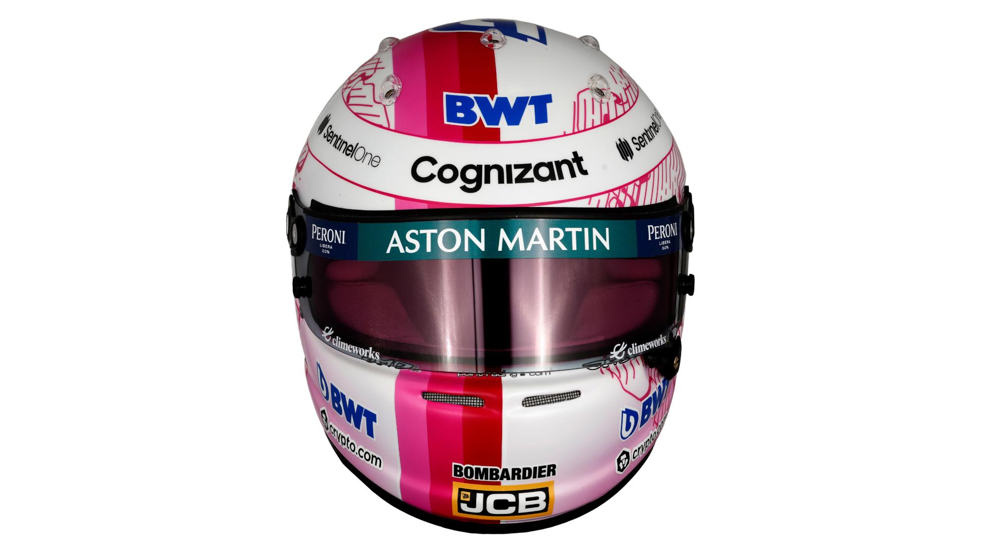 Sebastian Vettel 2021 F1 helmet