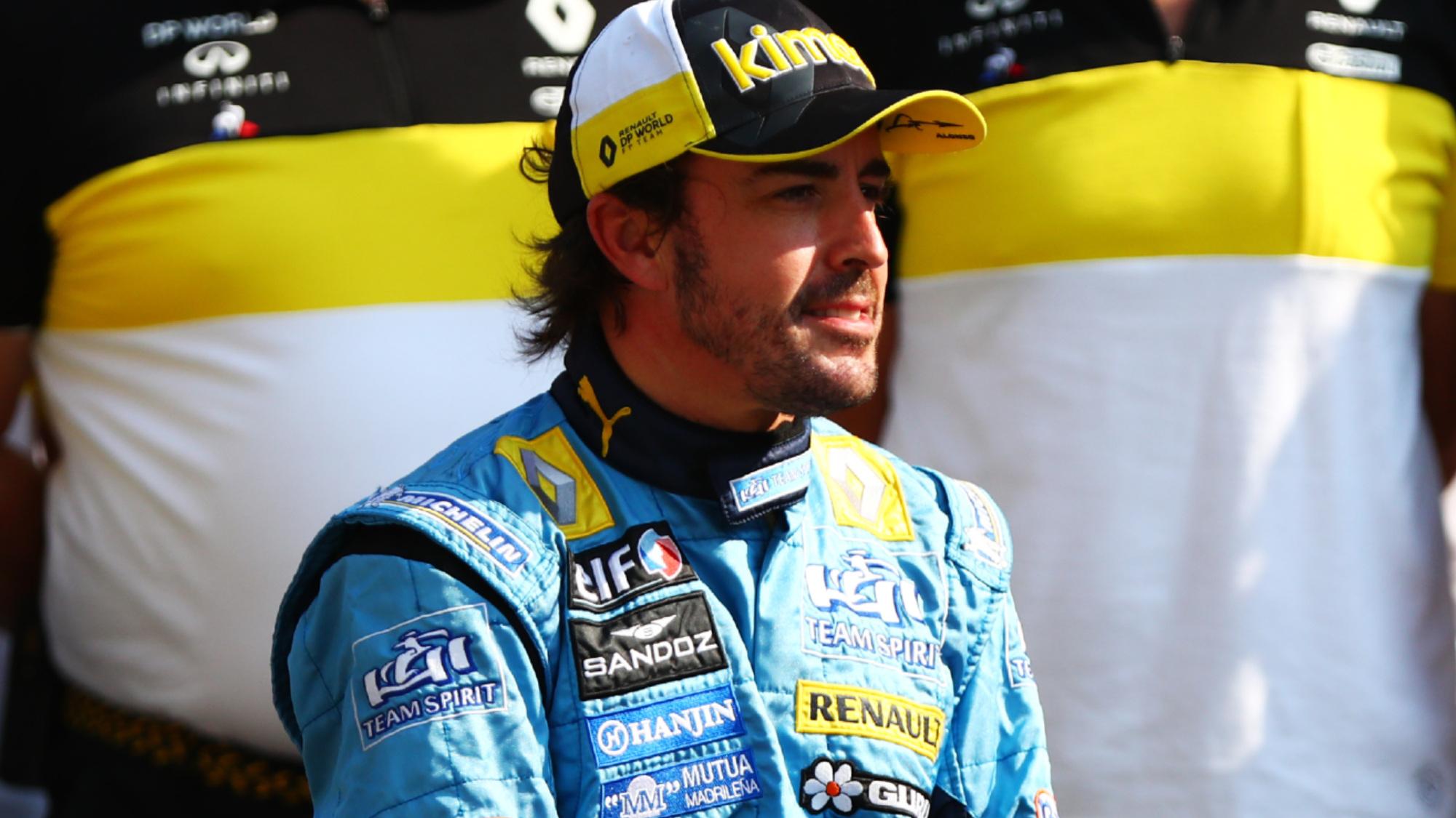 Fernando Alonso, 2020 Abu Dhabi GP