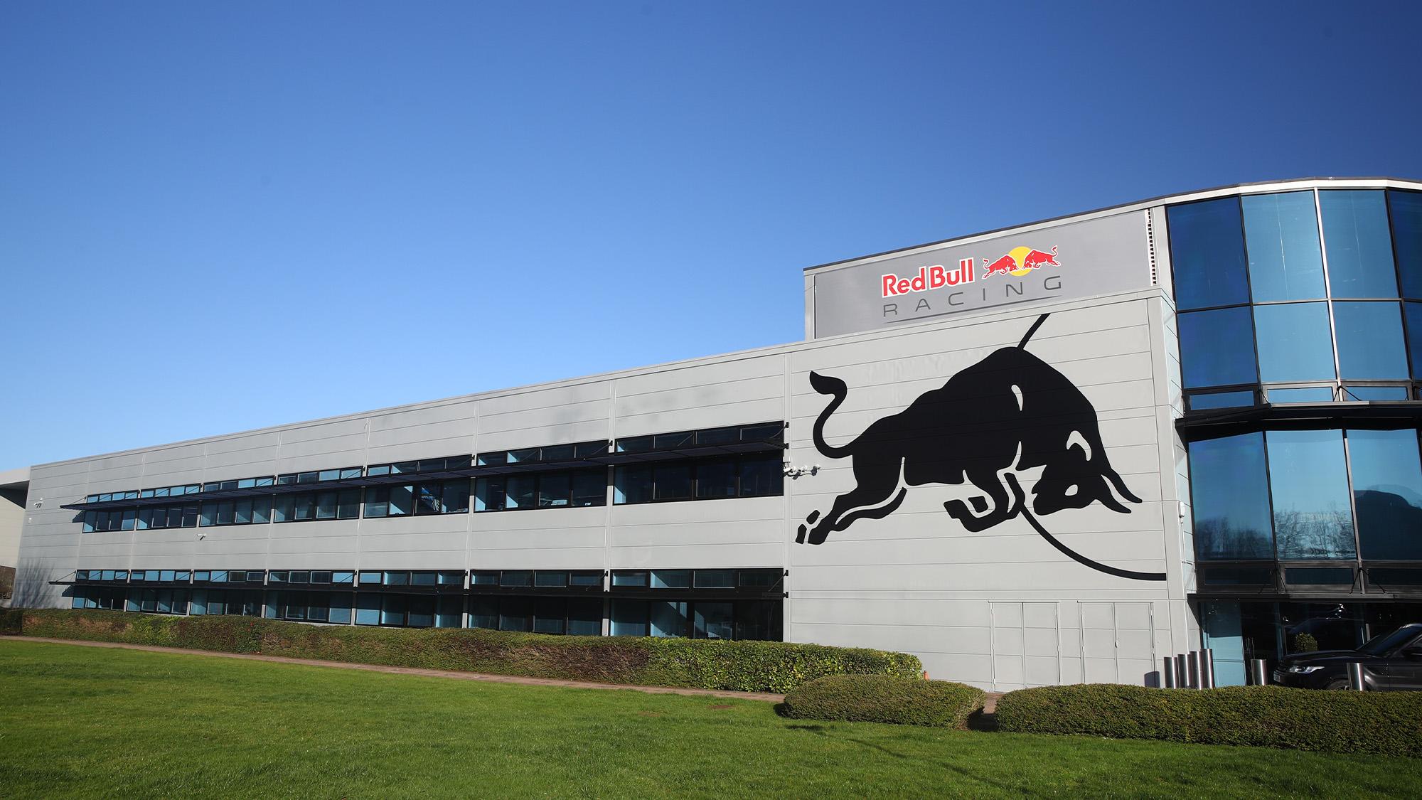 Red Bull Racing factory MIlton Keynes