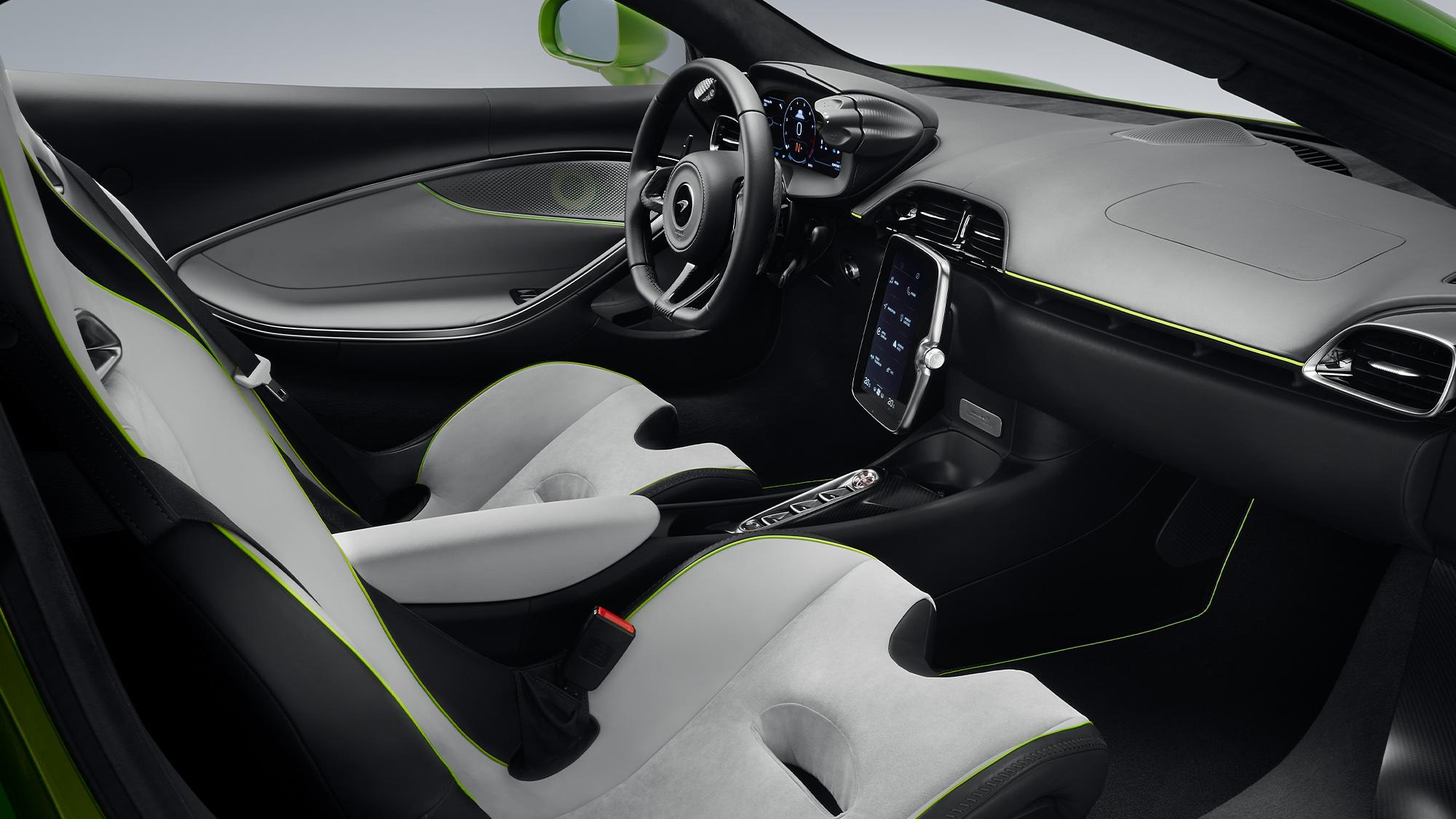 2021 McLaren Artura interior 1