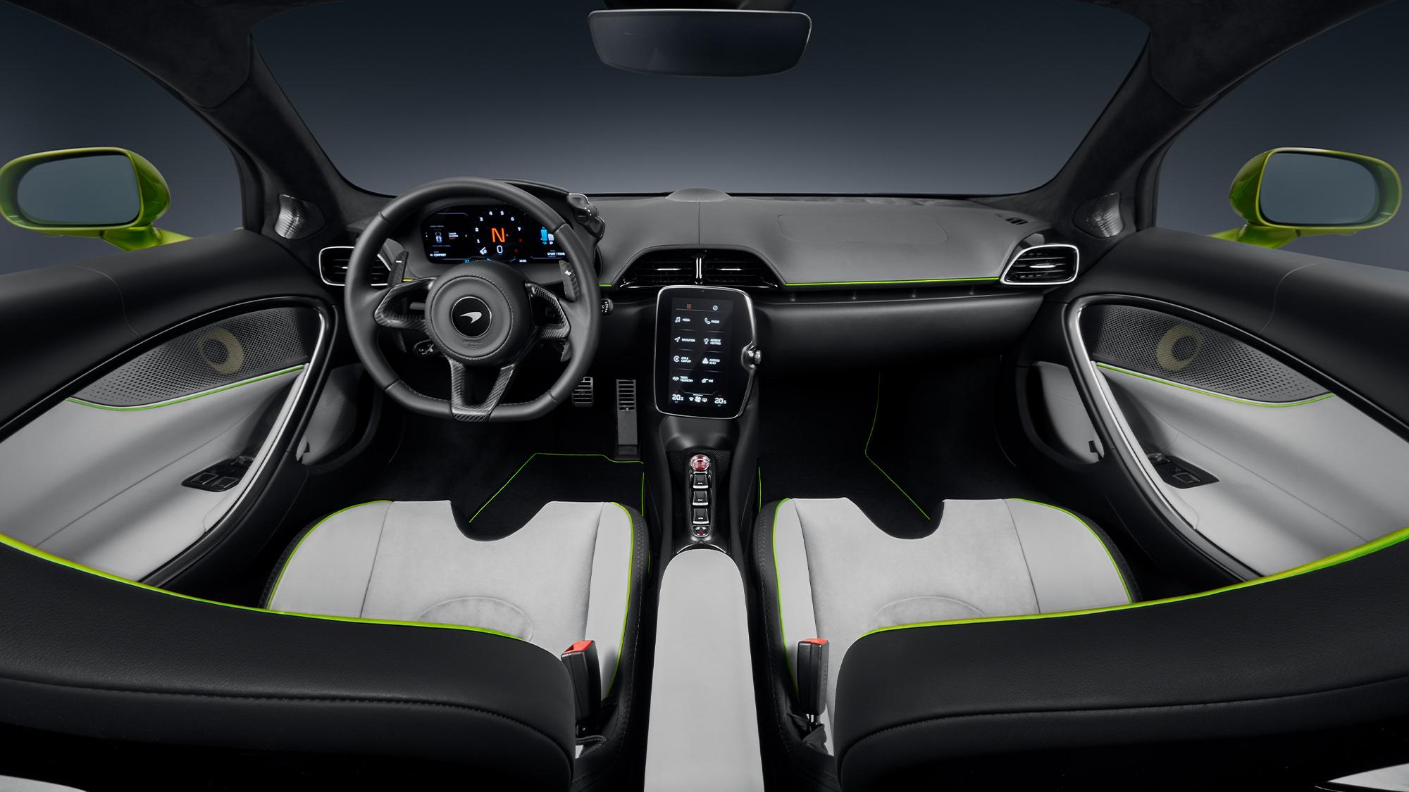2021 McLaren Artura interior 2