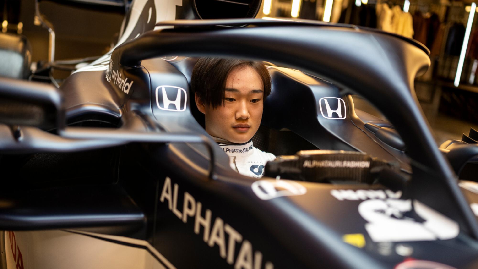 Yuki Tsunoda, 2021 AlphaTauri AT02