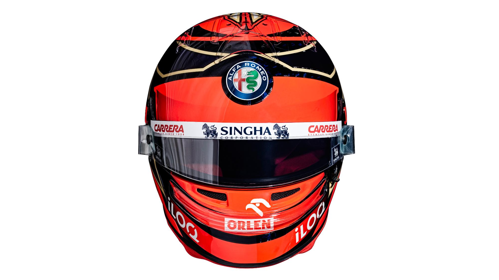 Kimi Raikkonen 2021 F1 Helmet