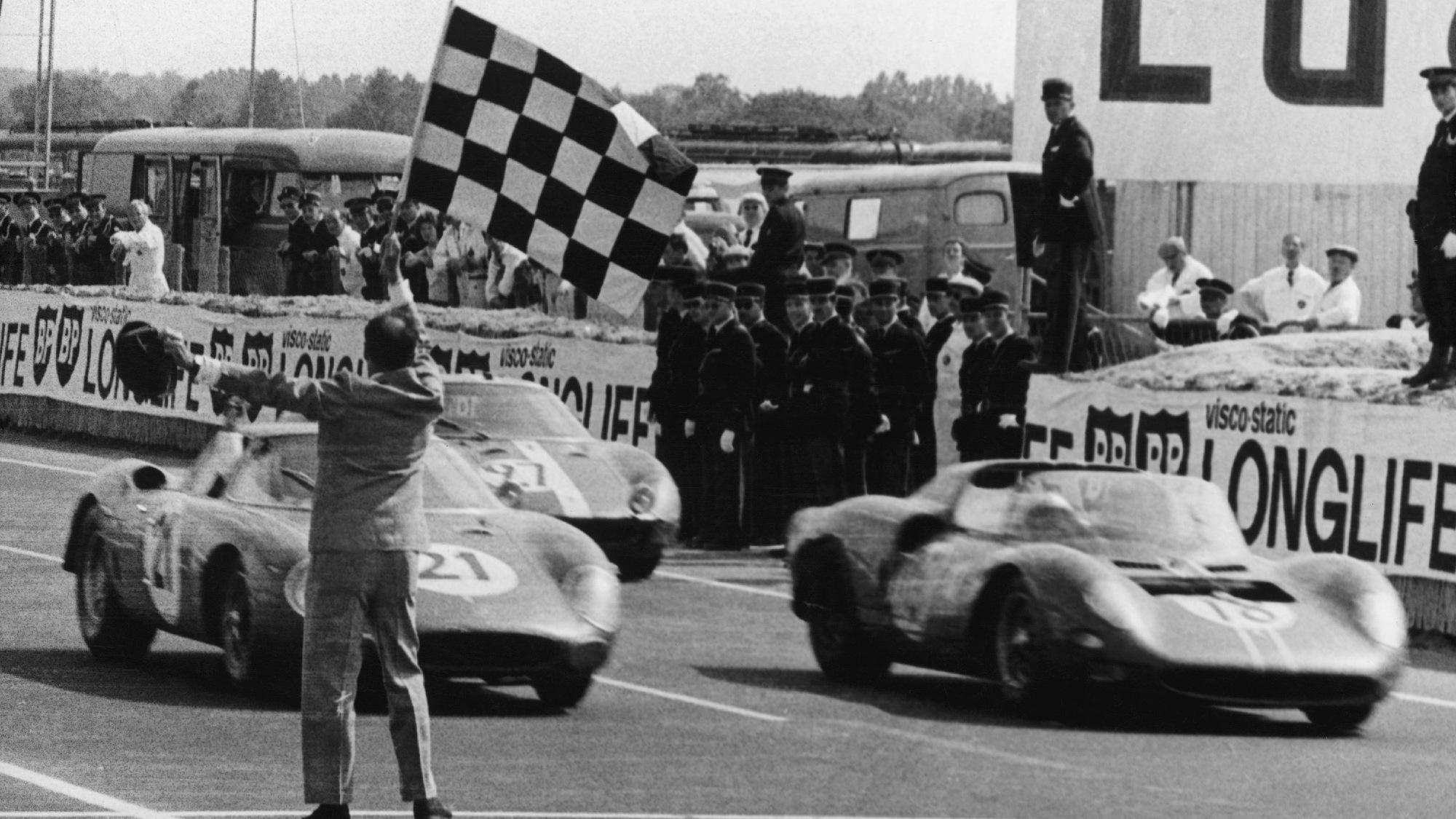 Ferrari Le Mans 1965 win