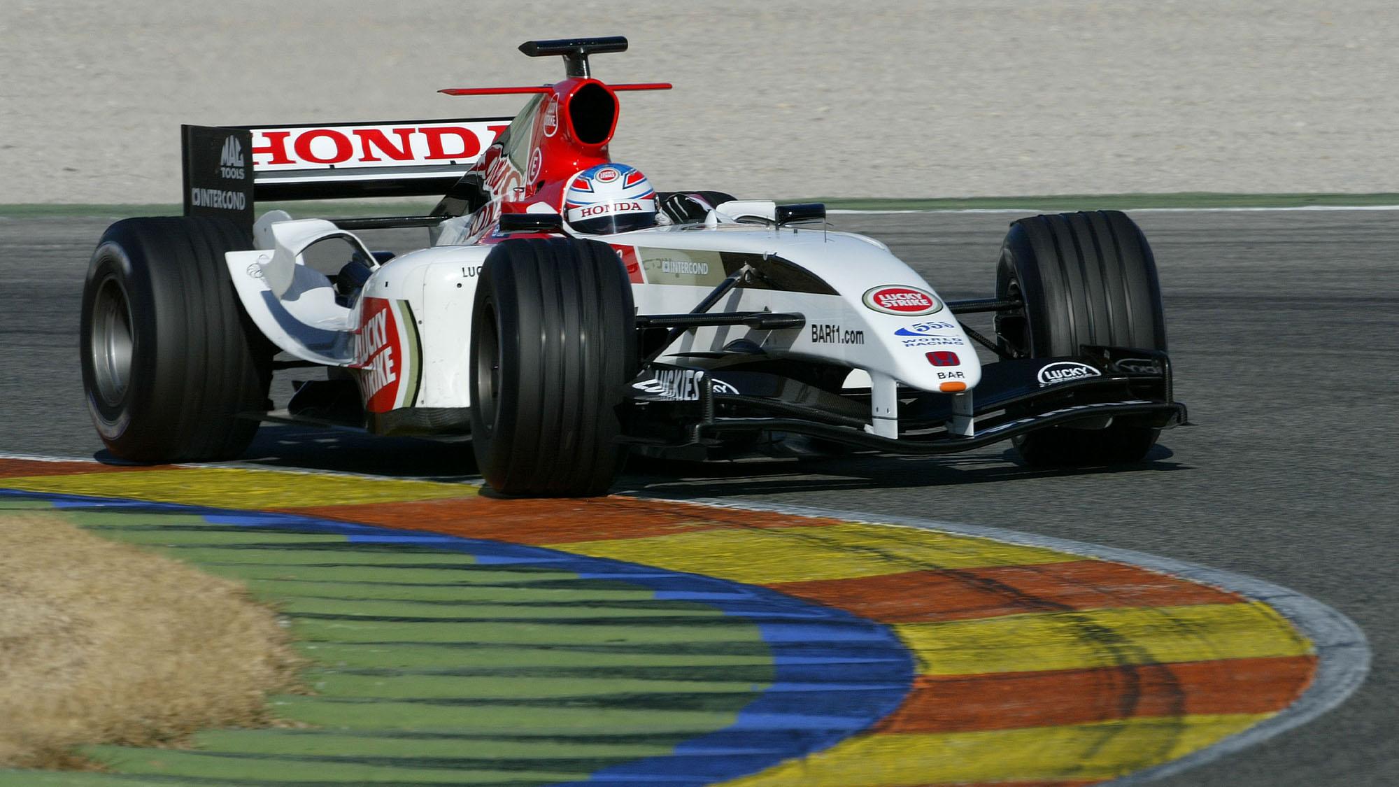 AUTO - F1 2005 - VALENCIA TESTS 02/04/2005 - PHOTO: JEAN MICHEL LE MEUR / DPPI ADAM CARROLL BAR ACTION