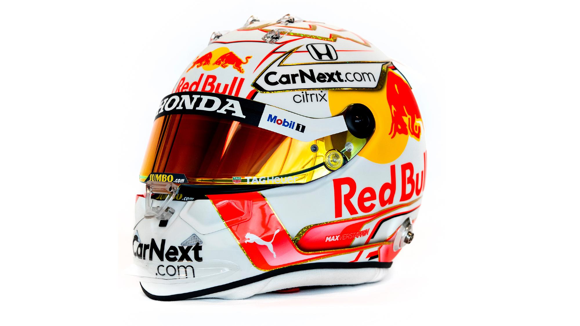 Max Verstappen 2021 F1 helmet