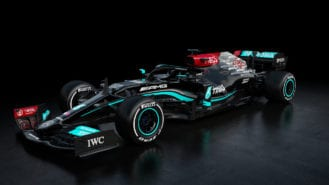 Mercedes reveals 2021 Formula 1 car with new AMG livery