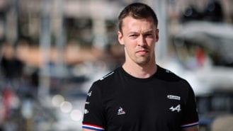 Daniil Kvyat switches to Alpine F1 Team as team's reserve driver