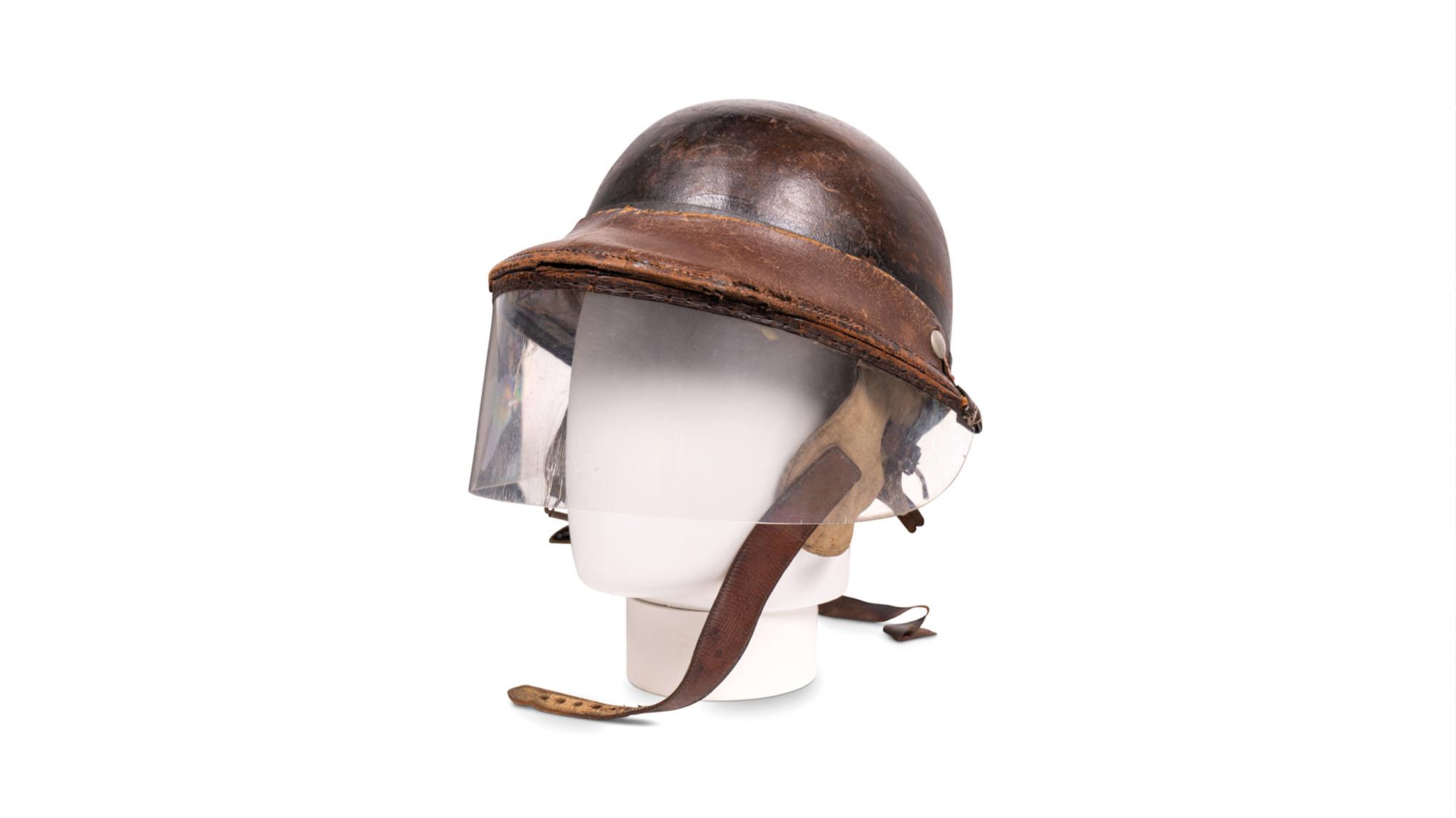 Phil Hill helmet