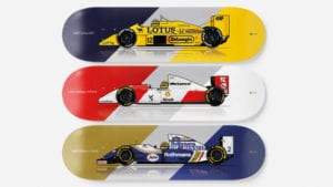 F1 skateboards