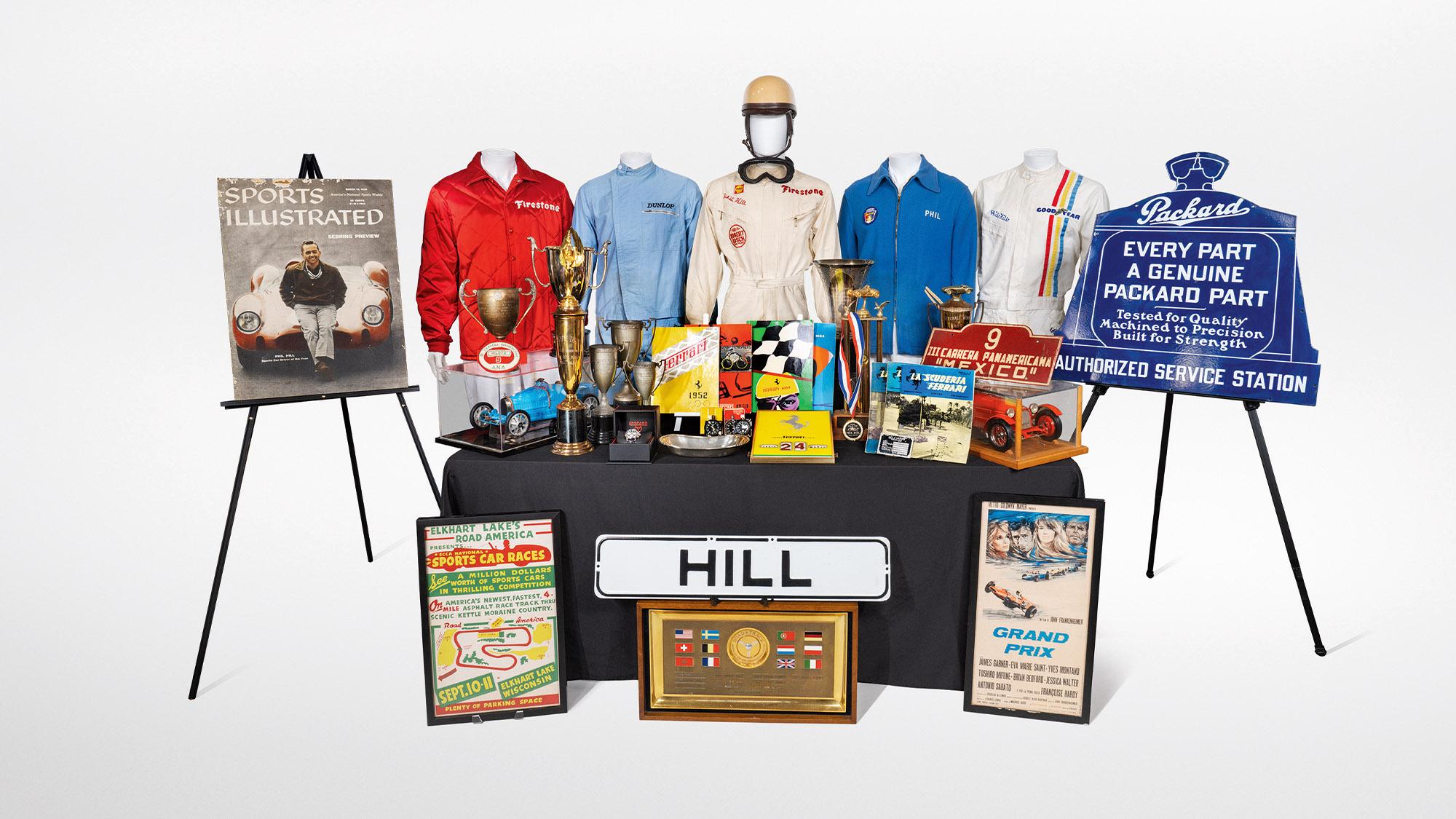 Phil Hill memorabilia collection