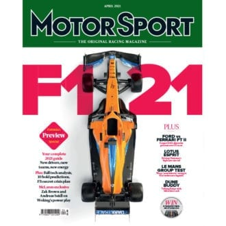 Product image for April 2021 | F121 | Motor Sport Magazine