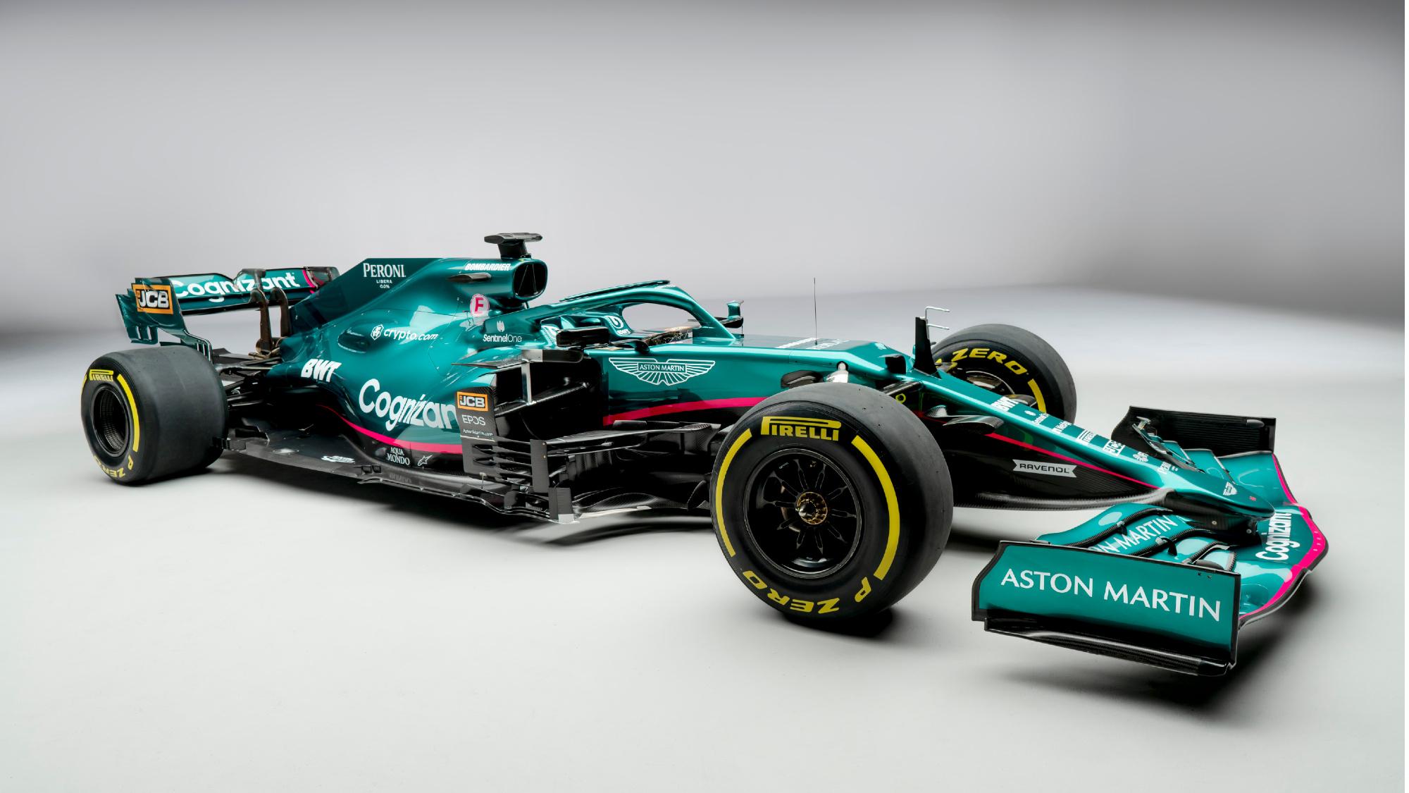 Aston Martin AMR21 Formula 1 Car
