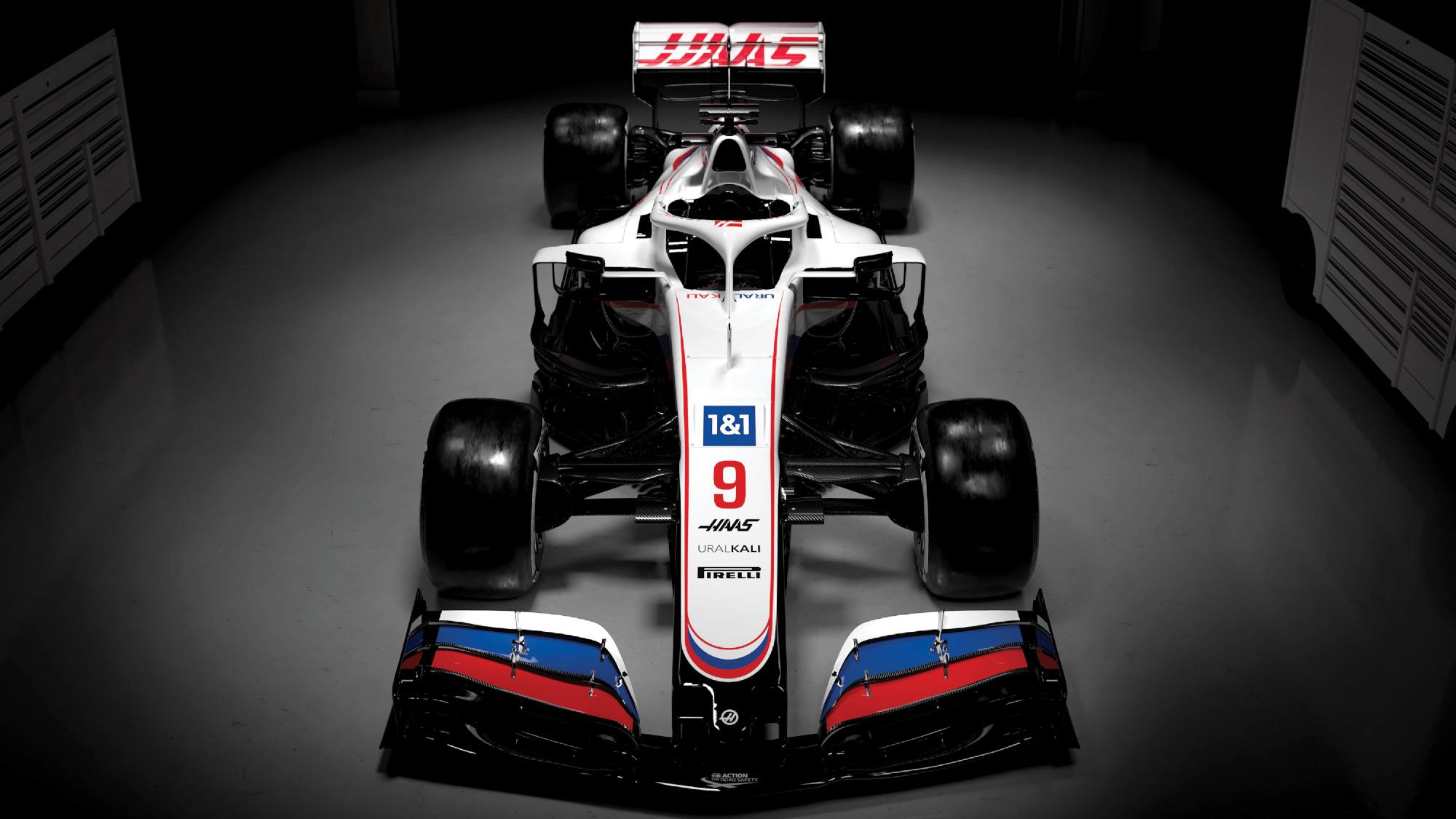 2021 Haas VF21 F1 livery