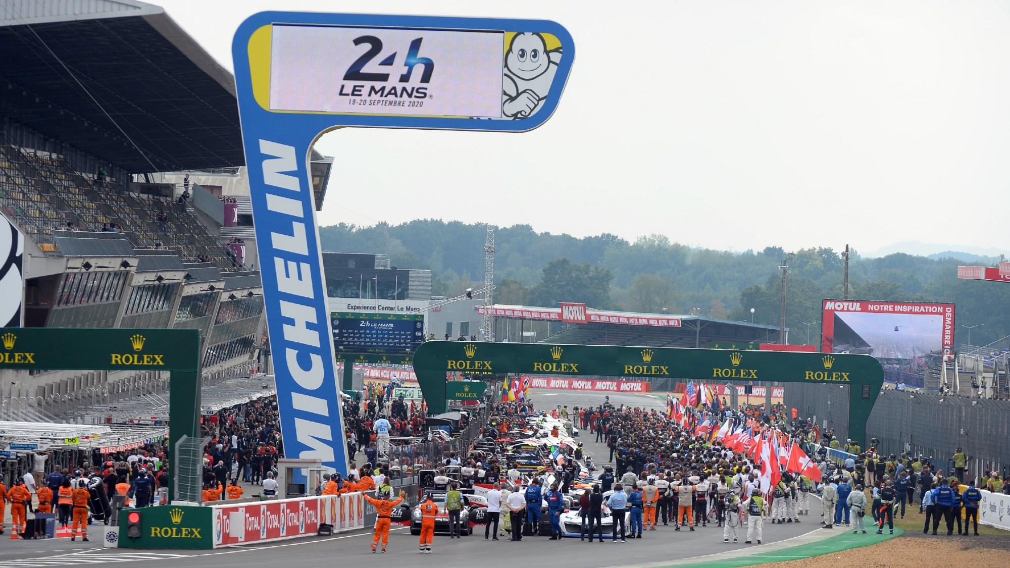 2020 Le Mans 24 Hours grid