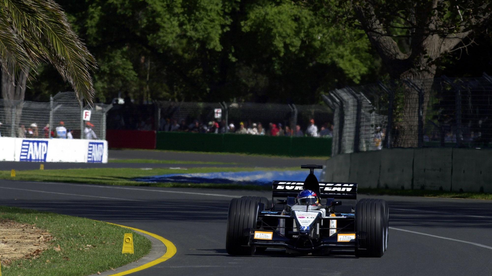 AUTO - F1 2001 - AUSTRALIAN GRAND-PRIX 010304 - MELBOURNE - PHOTO: ERIC VARGIOLU / DPPI FERNANDO ALONSO (SPA) / EUROPEAN MINARDI