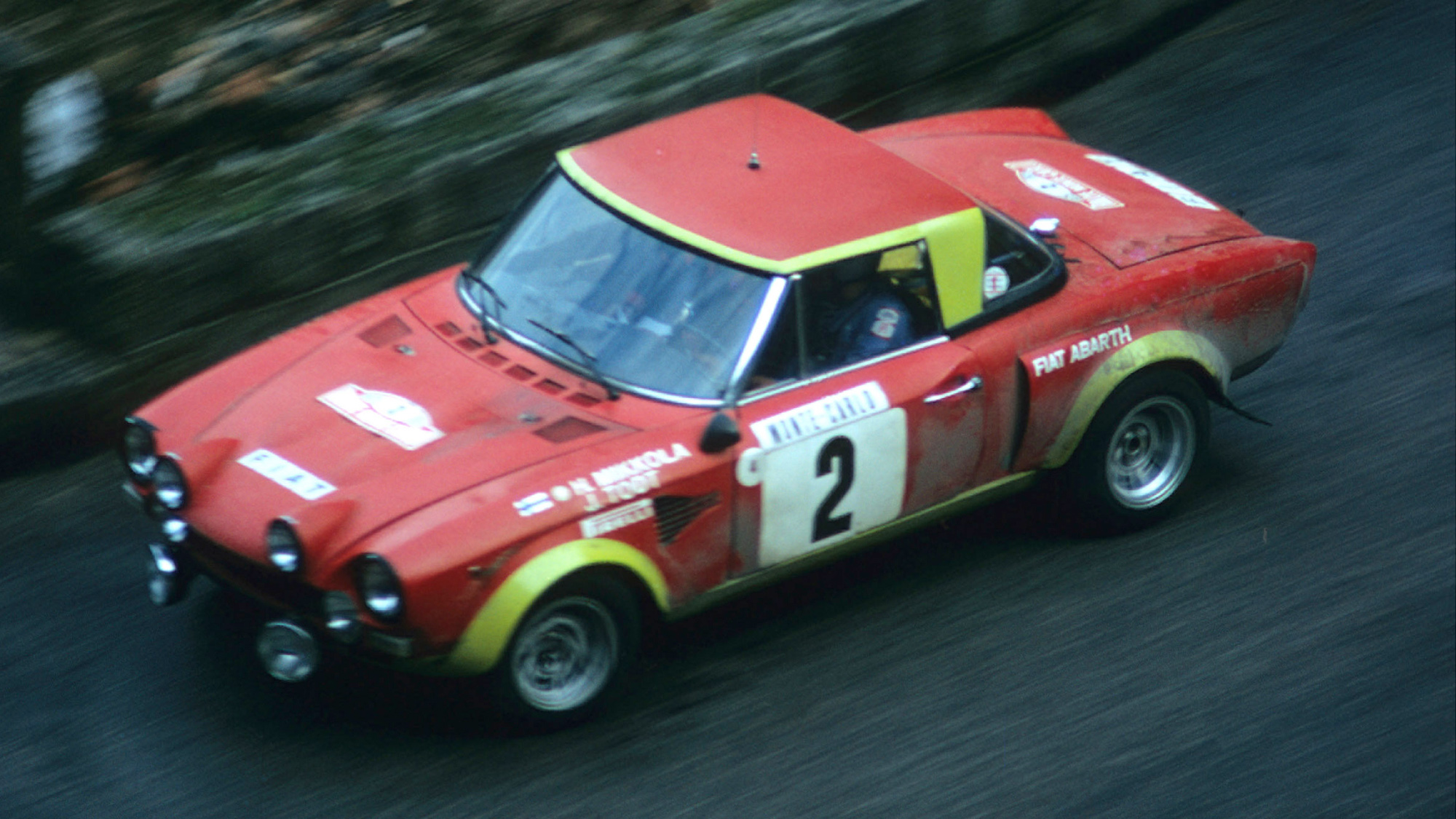 Hannu Mikkola and Jean Todt on the 1975 Monte Carlo Rally