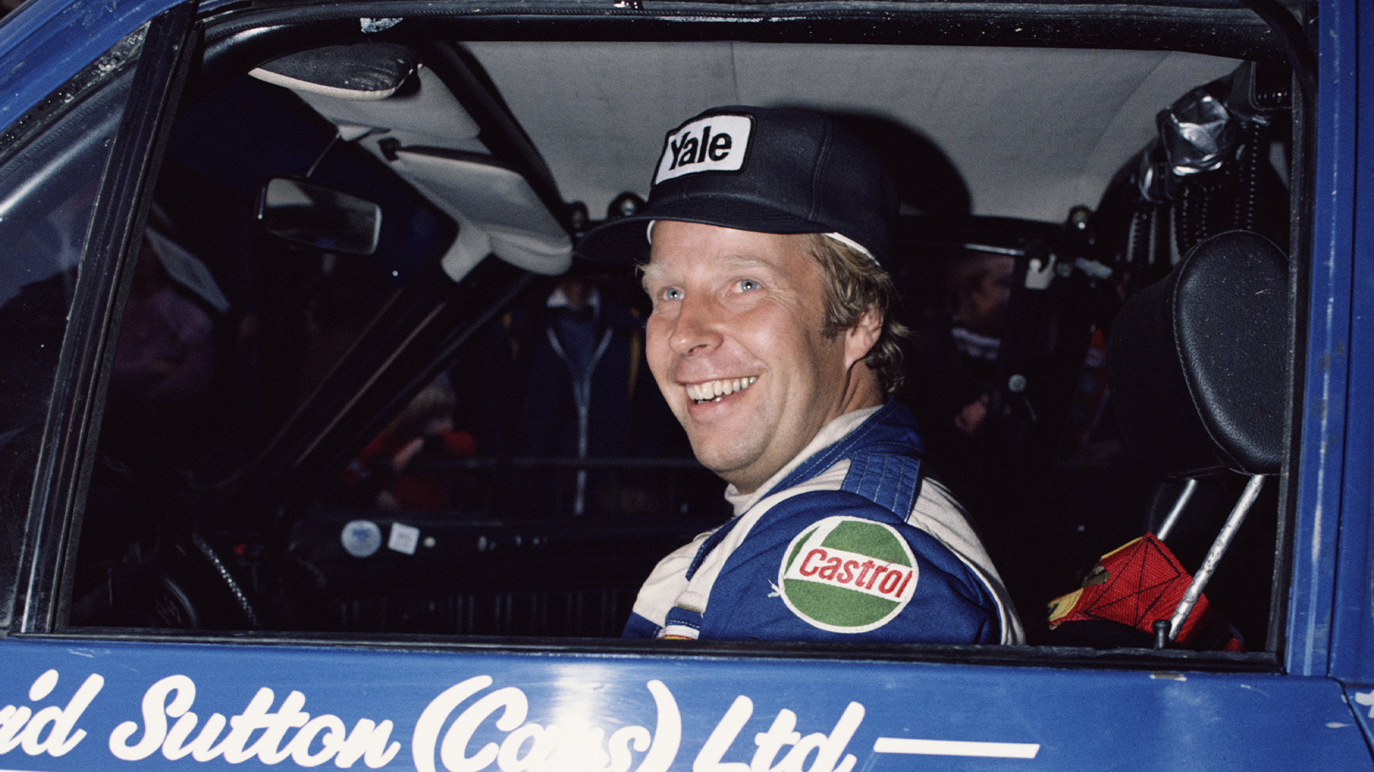 Hannu Mikkola 1980 RAC RAlly