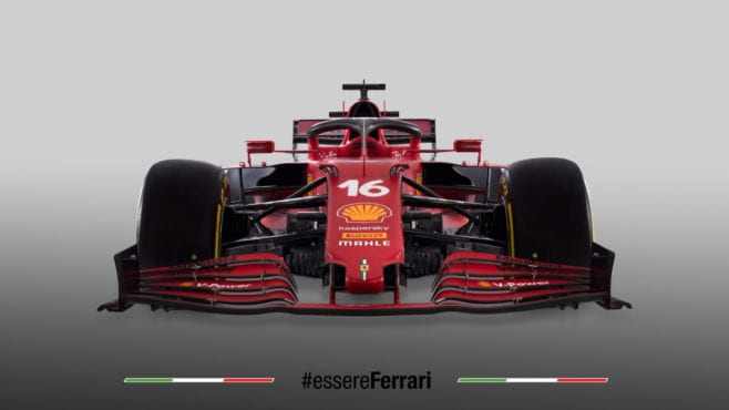 Ferrari unveils 2021 F1 car with improvements 'in all areas'