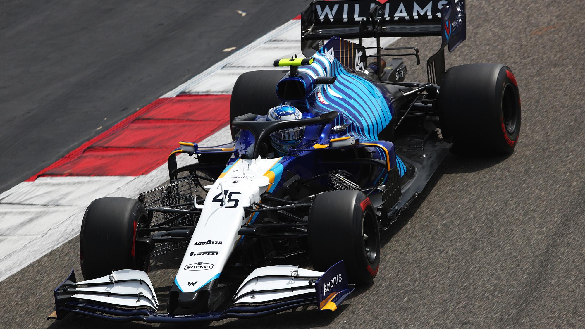 Roy Nissany 2021 F1 testing
