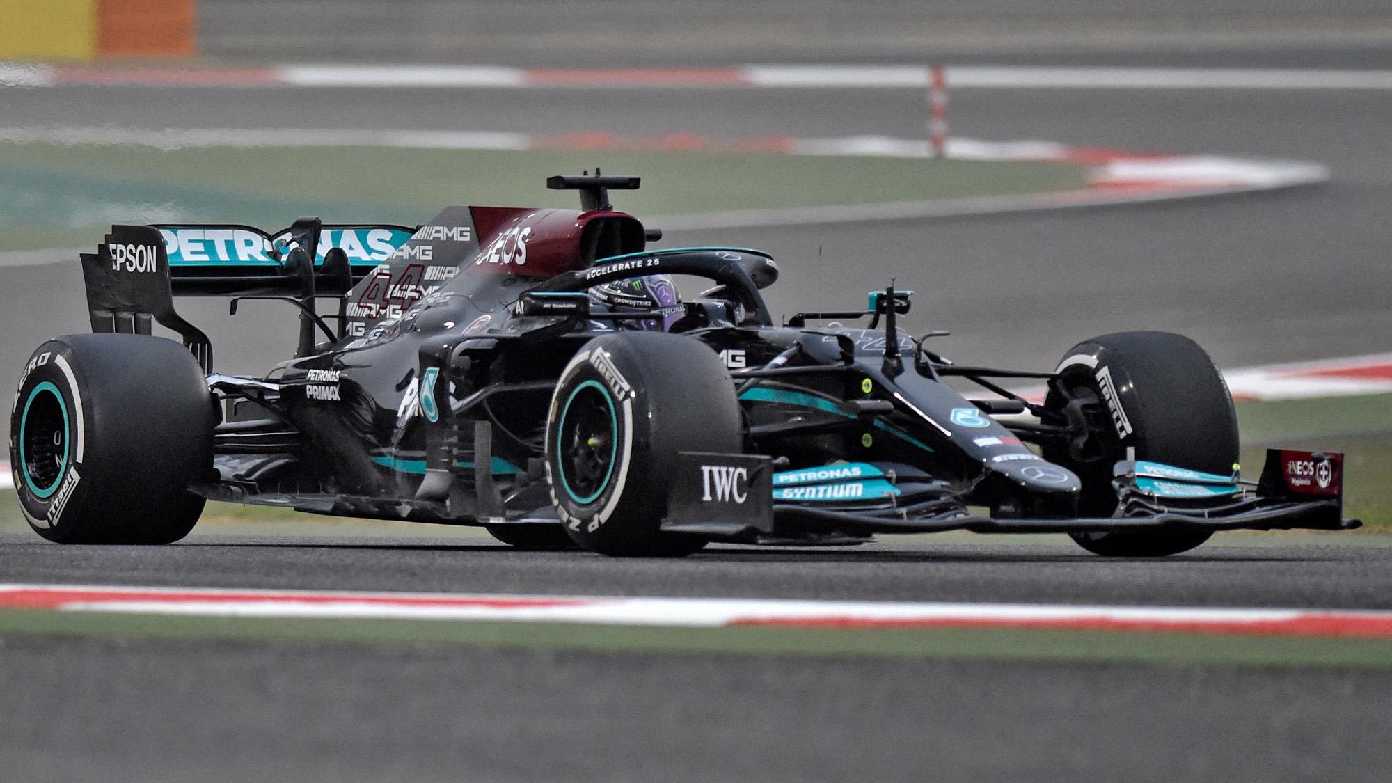 Lewis Hamilton Mercedes 2021 F1 preseason testing