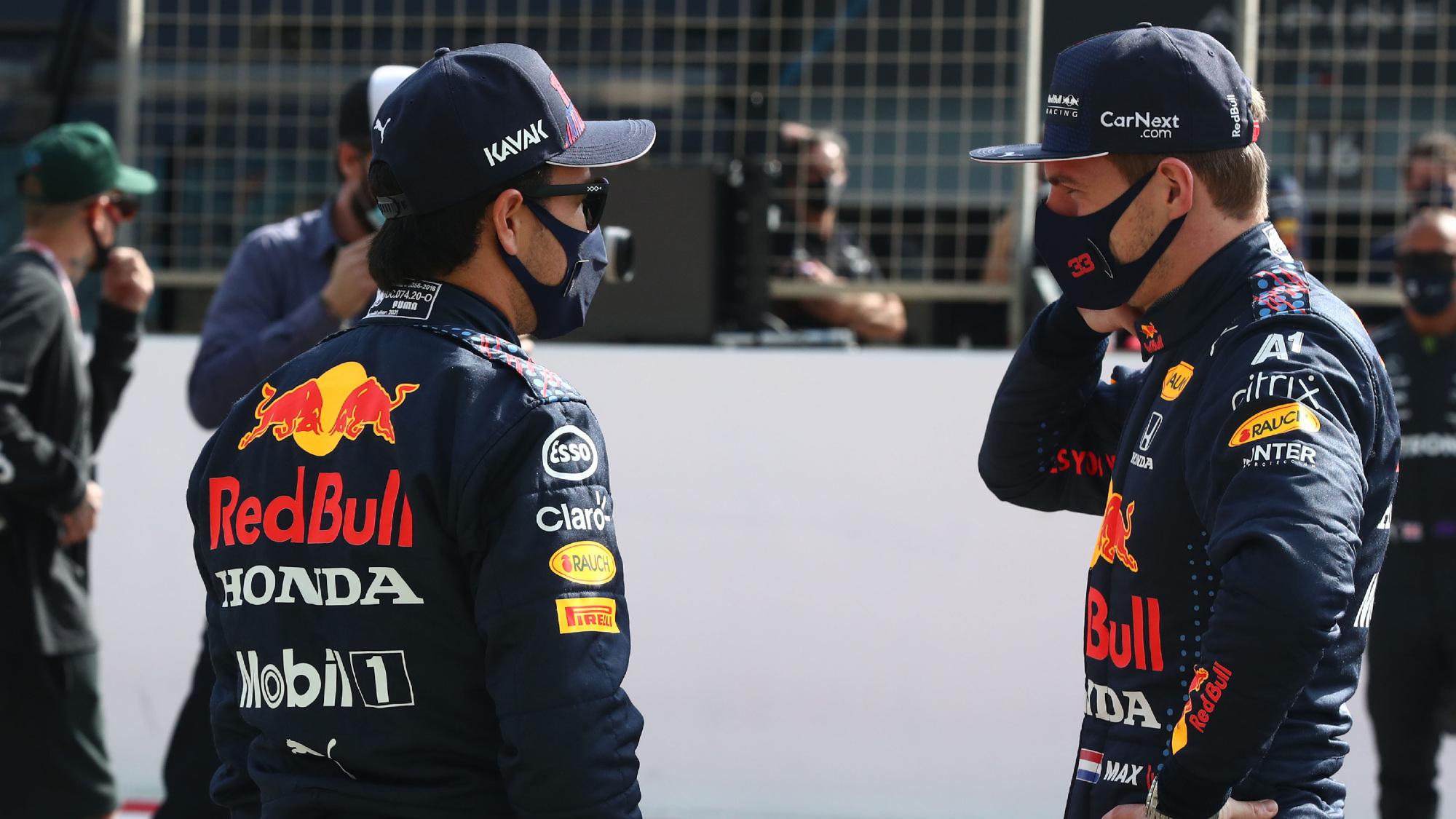 Sergio Perez, Red Bull 2021 testing
