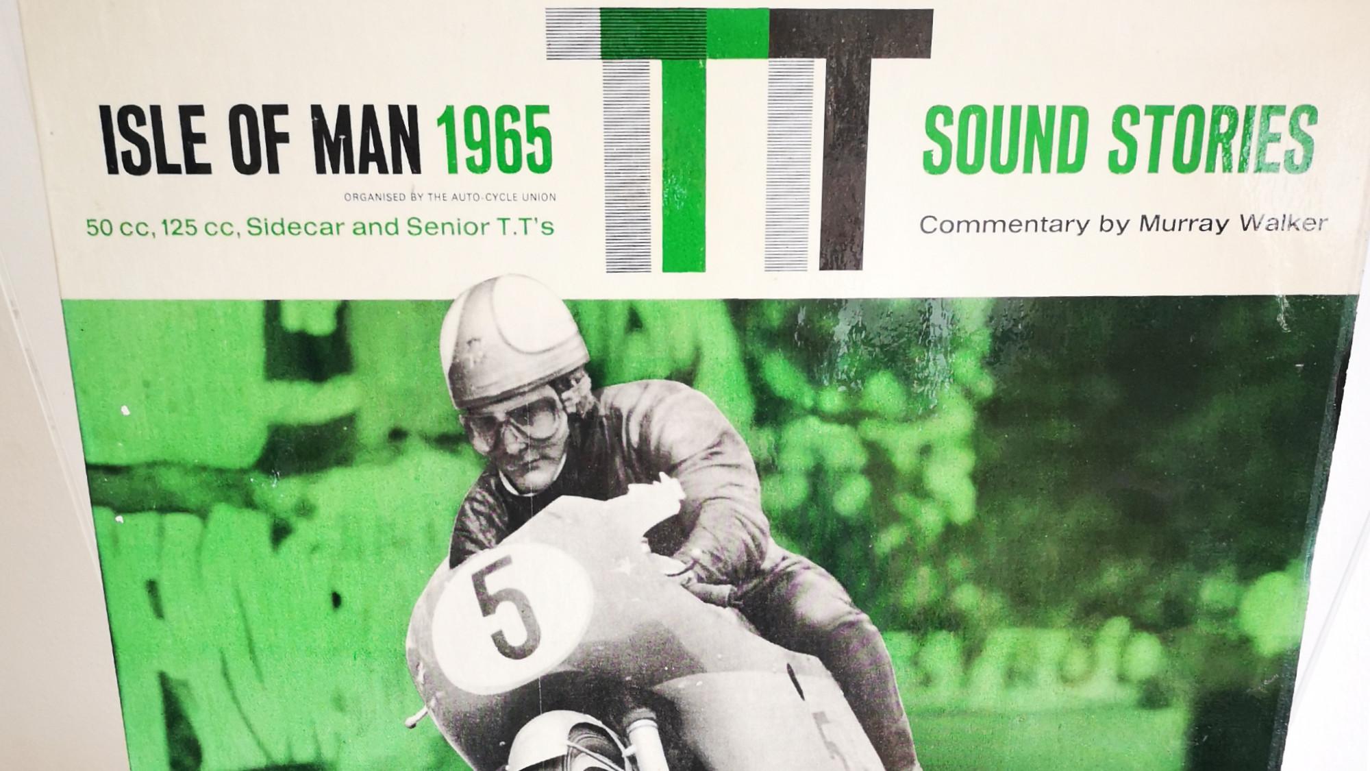 Isle of Mann TT vinyl, Murray Walker