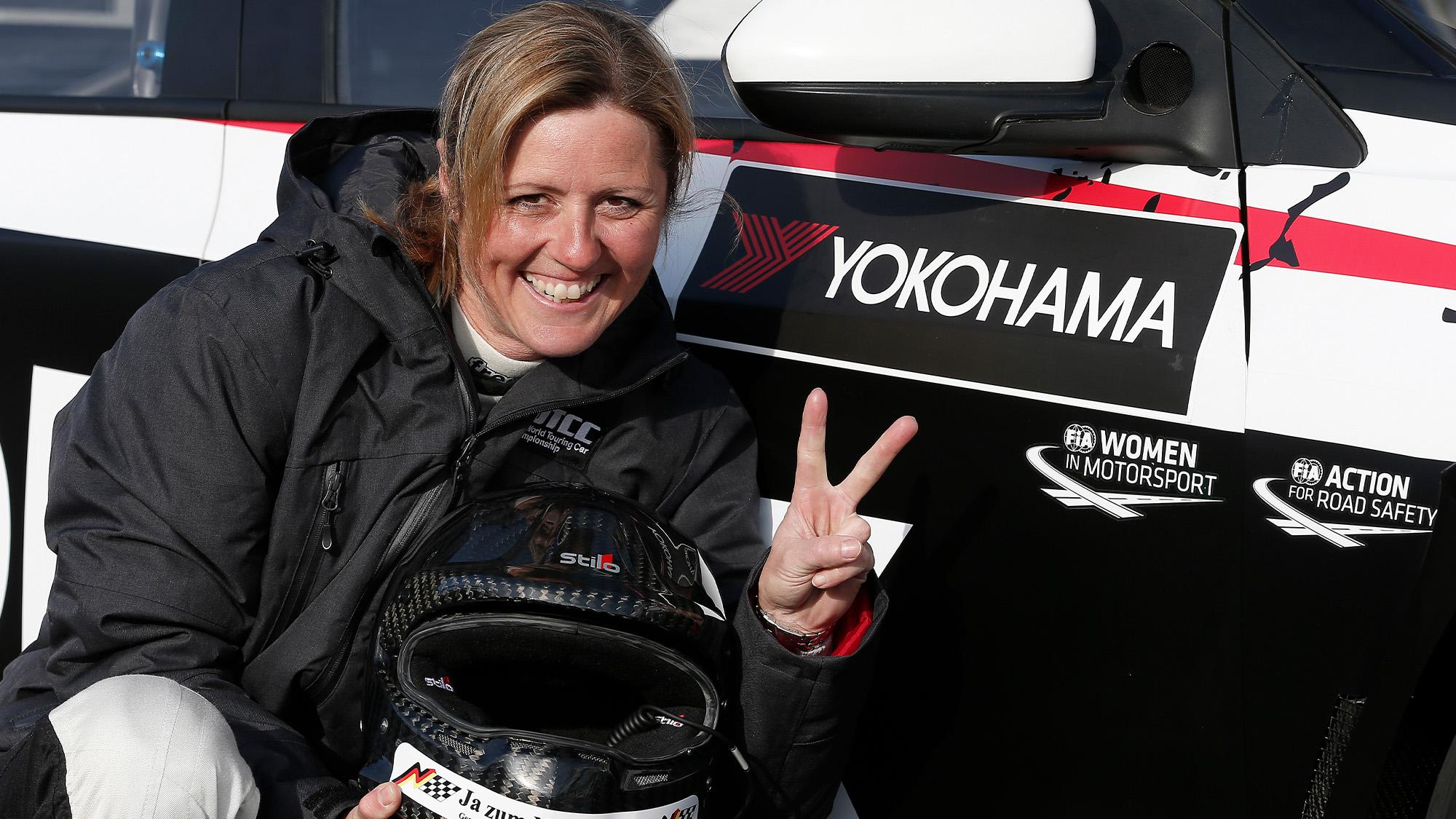 Sabine Schmitz WTCC
