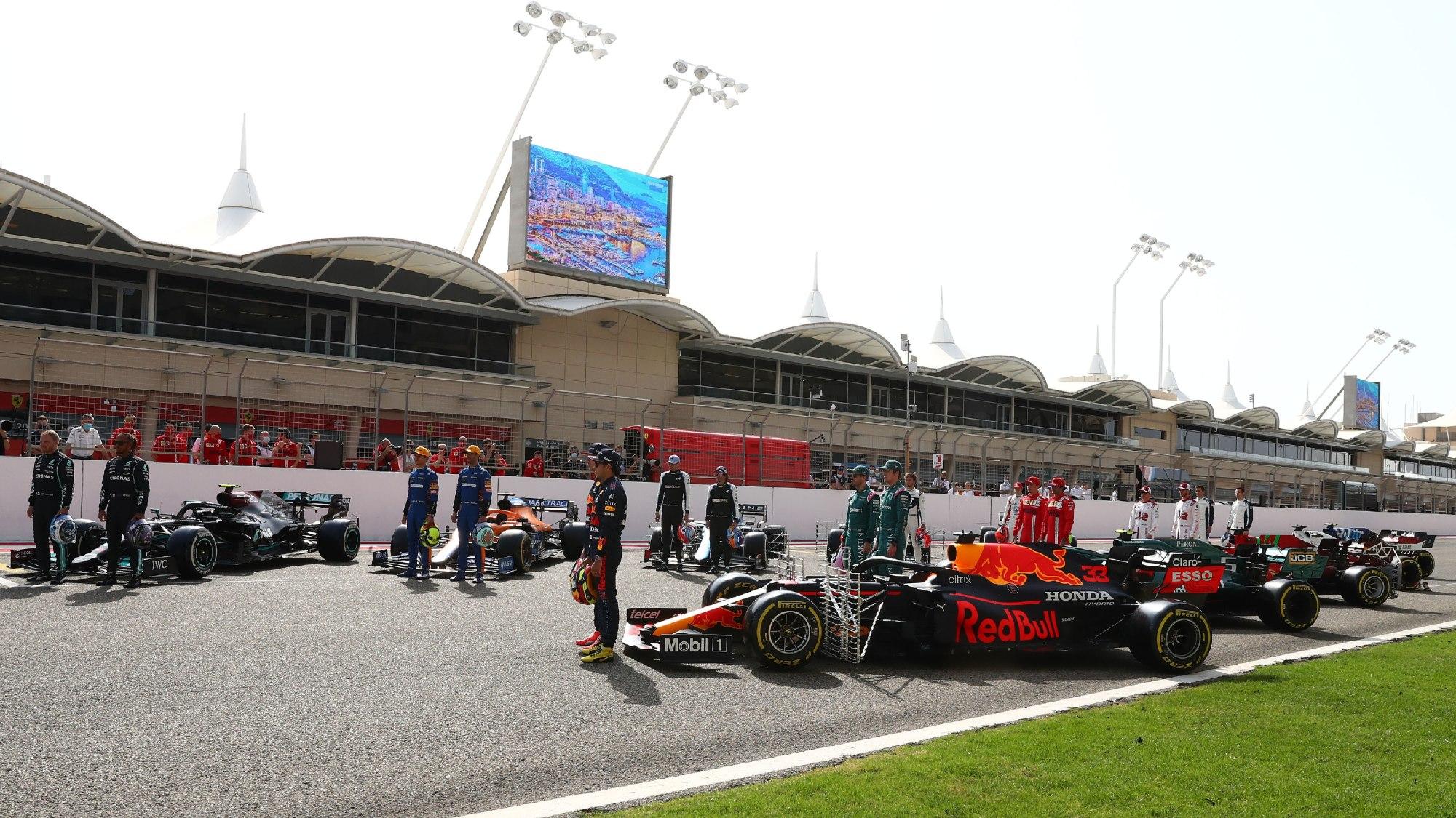 2021 F1 Testing