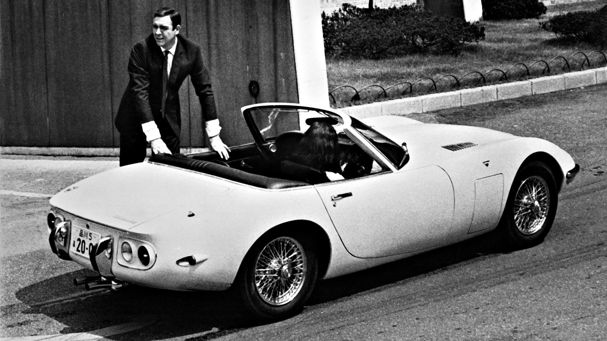 Sean Connery Toyota 2000GT You only live twice