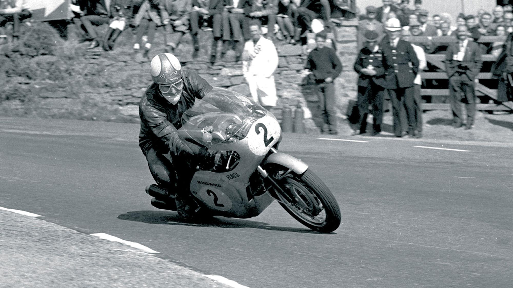 Mike Hailwood at the 1966 Isle of Man TT
