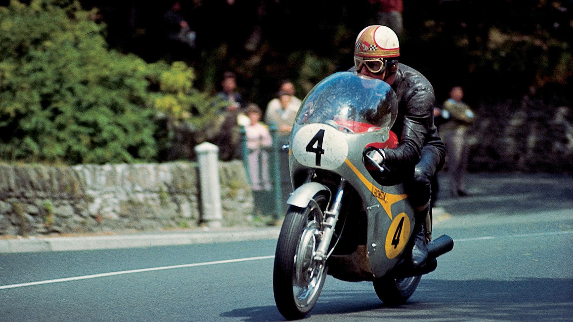 Mike Hailwood at the 1967 Isle of Man TT