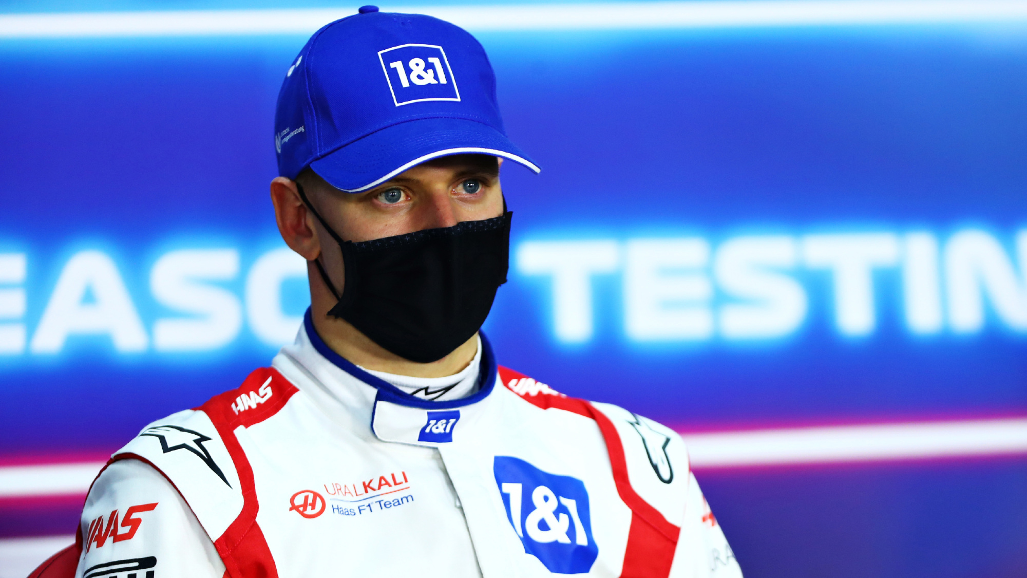 Mick Schumacher, 2021 Testing