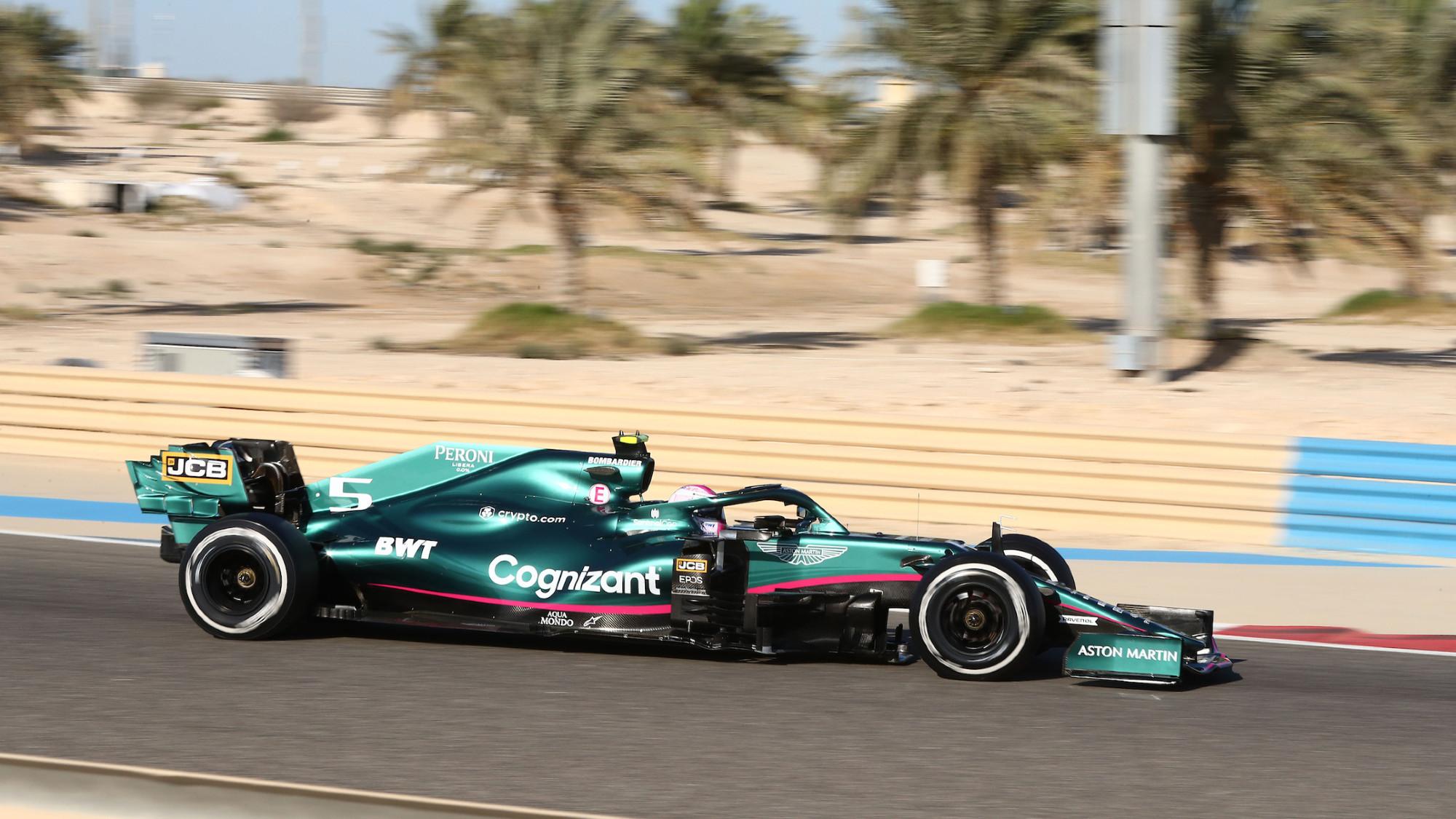 Sebastian Vettel, Aston Martin 2021