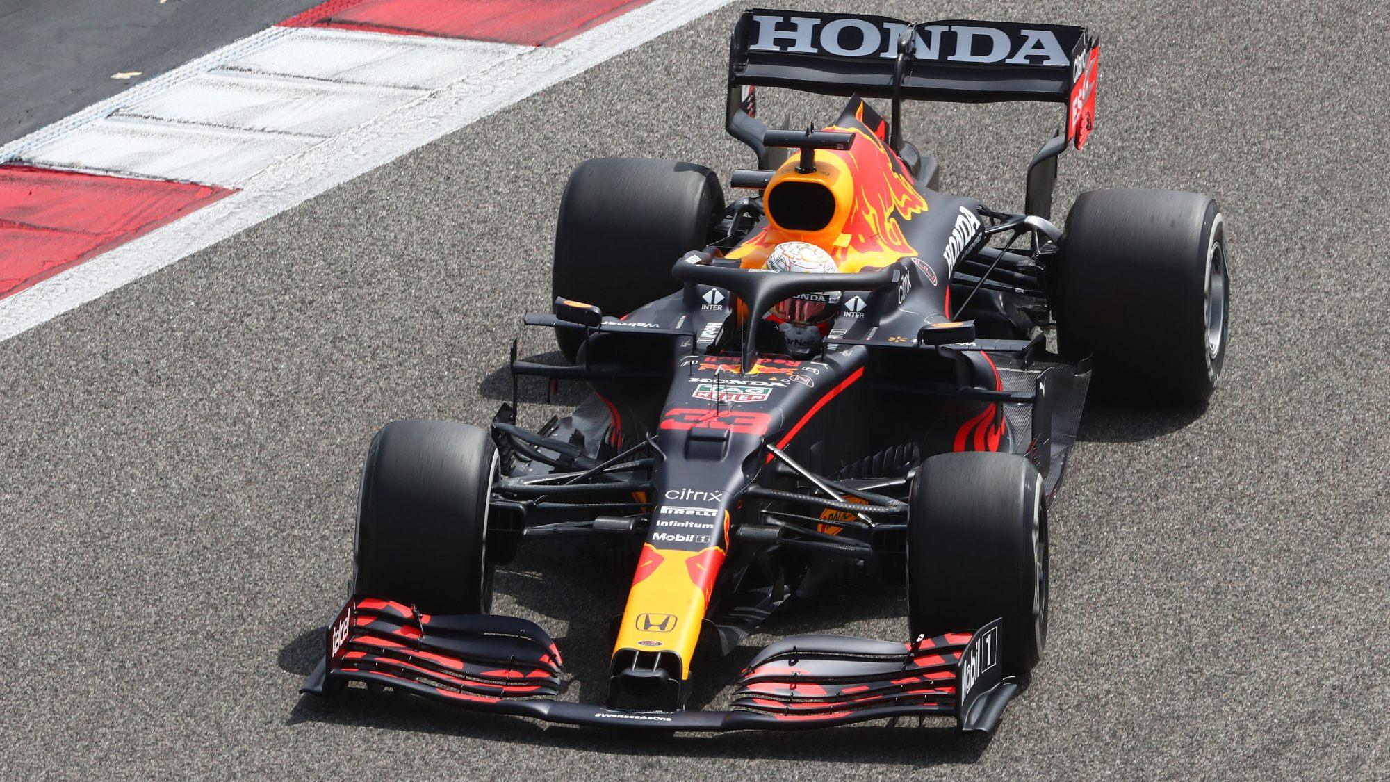 Max Verstappen, 2021 F1 testing