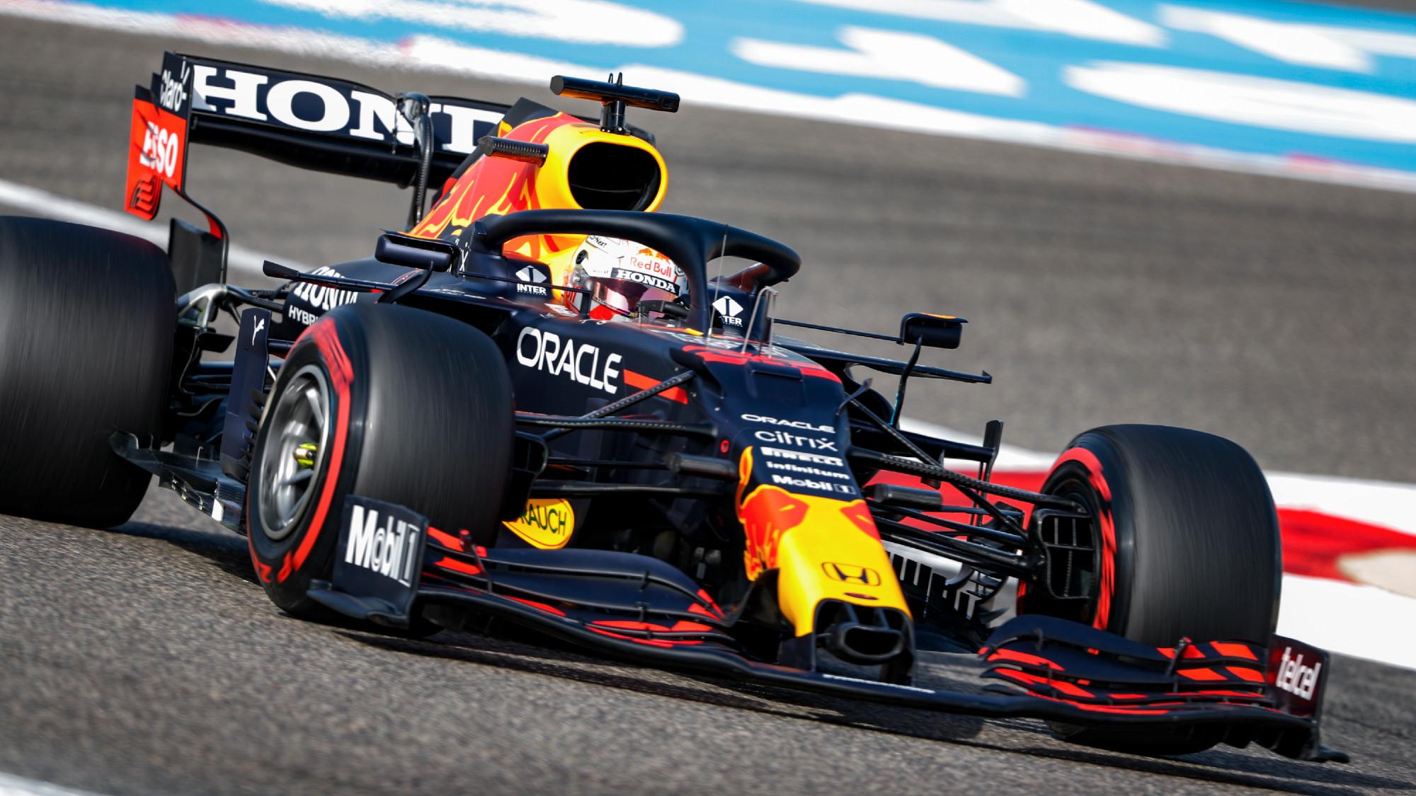 Max Verstappen, FP1 Bahrain GP 2021